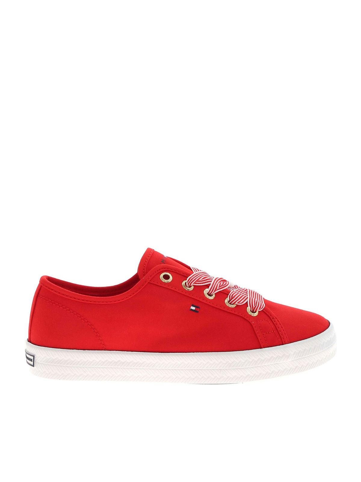 Tommy Hilfiger ESSENTIAL SNEAKERS IN RED