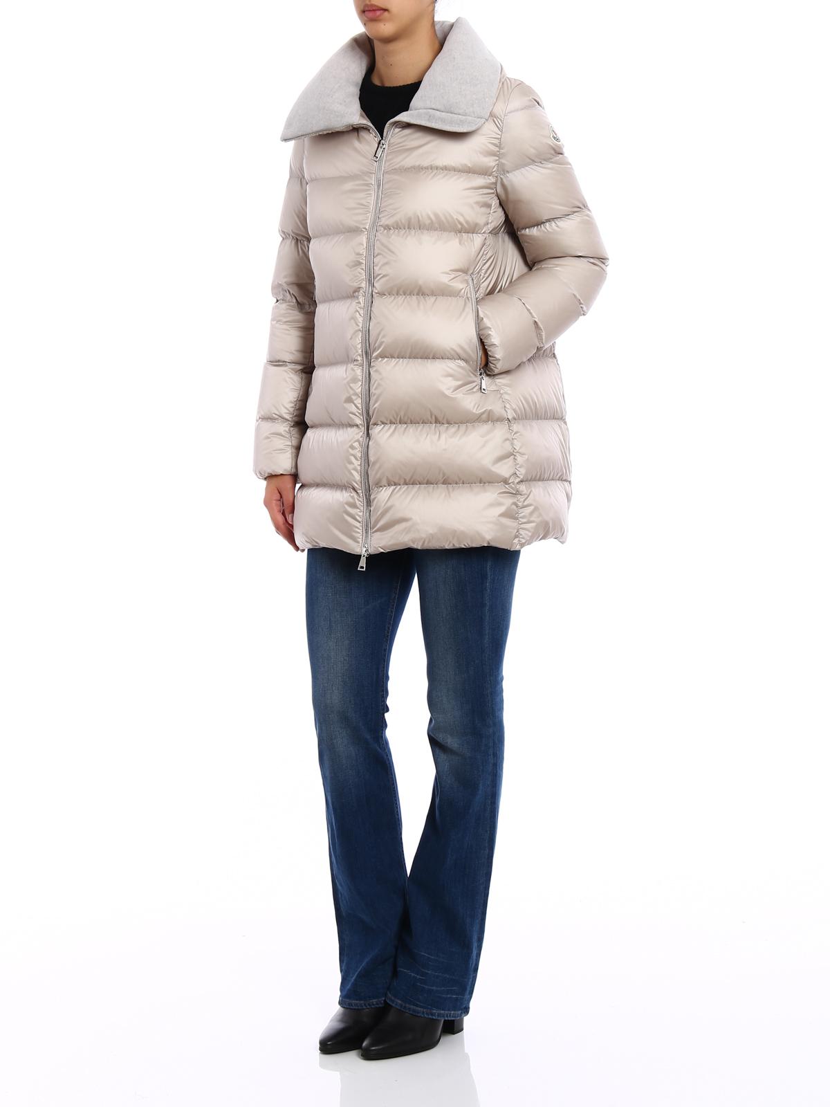 Moncler Piumino beige trapuntato Torcyn cappotti