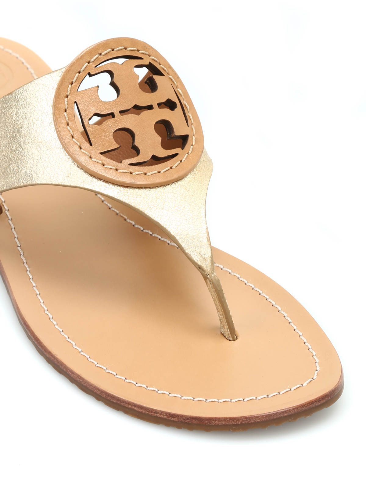 4beff65675108f Tory Burch - Louisa leather thong sandals - flip flops - 22158537 058