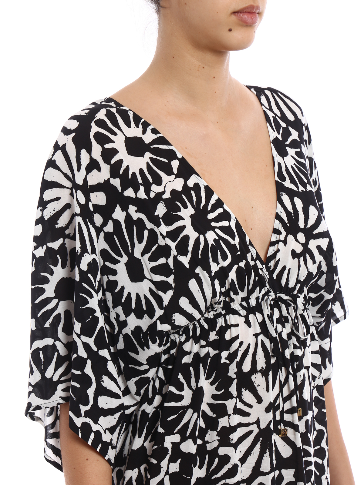74ed14f256a89 Tory Burch - Pomelo Floral beach dress - cover-ups - 45837008 ...