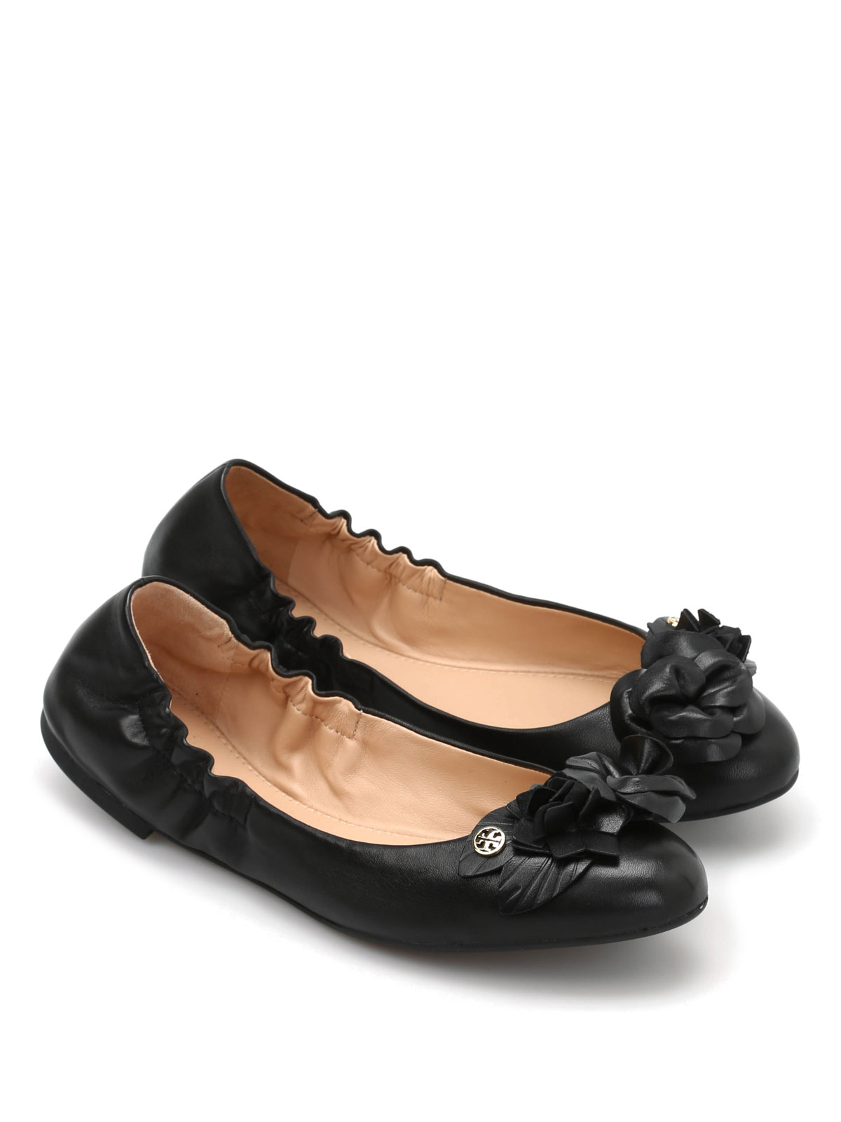 Tory Burch Black Flat Shoes