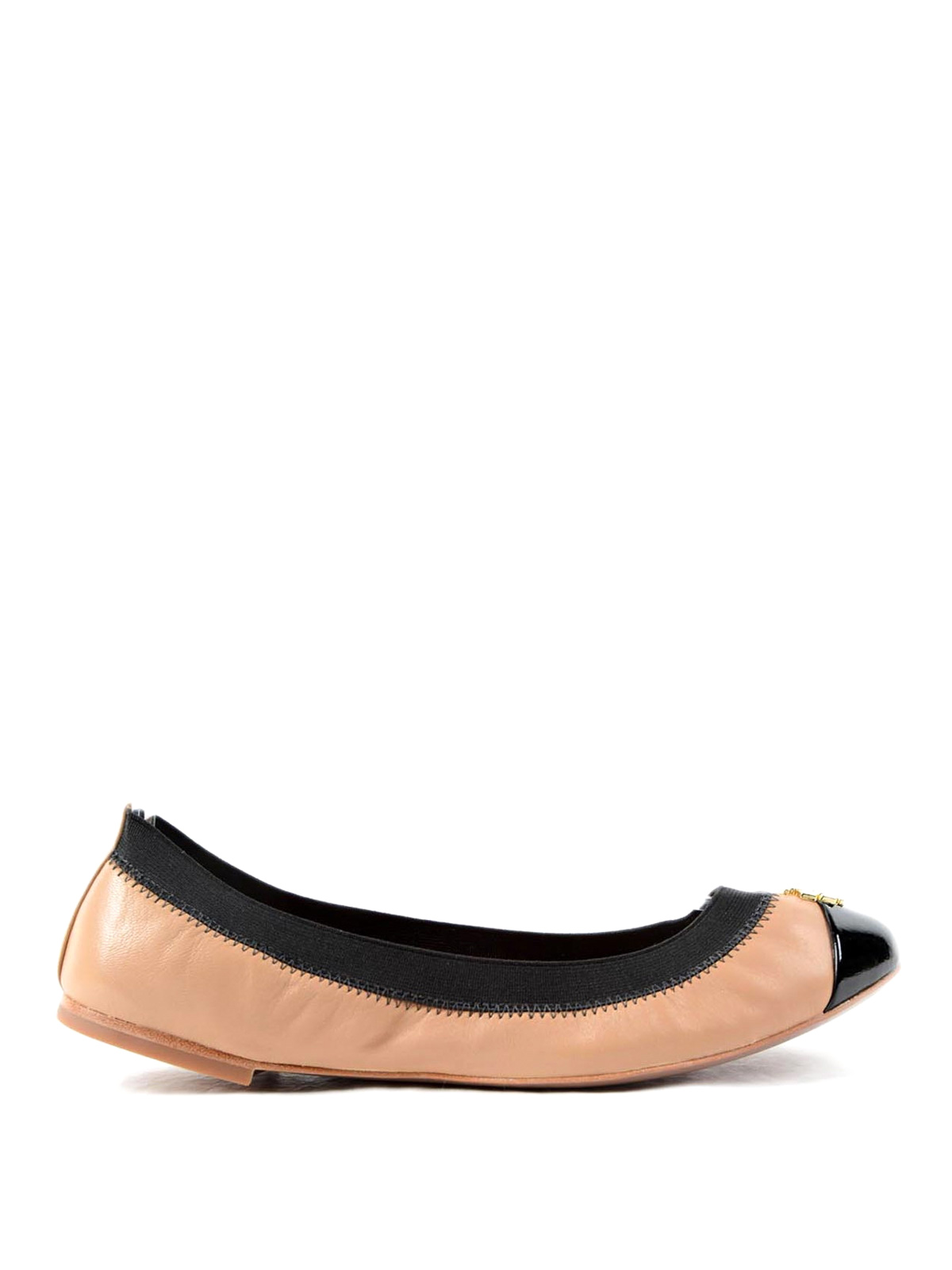 patent leather toe jolie ballerinas by tory burch flat shoes ikrix. Black Bedroom Furniture Sets. Home Design Ideas