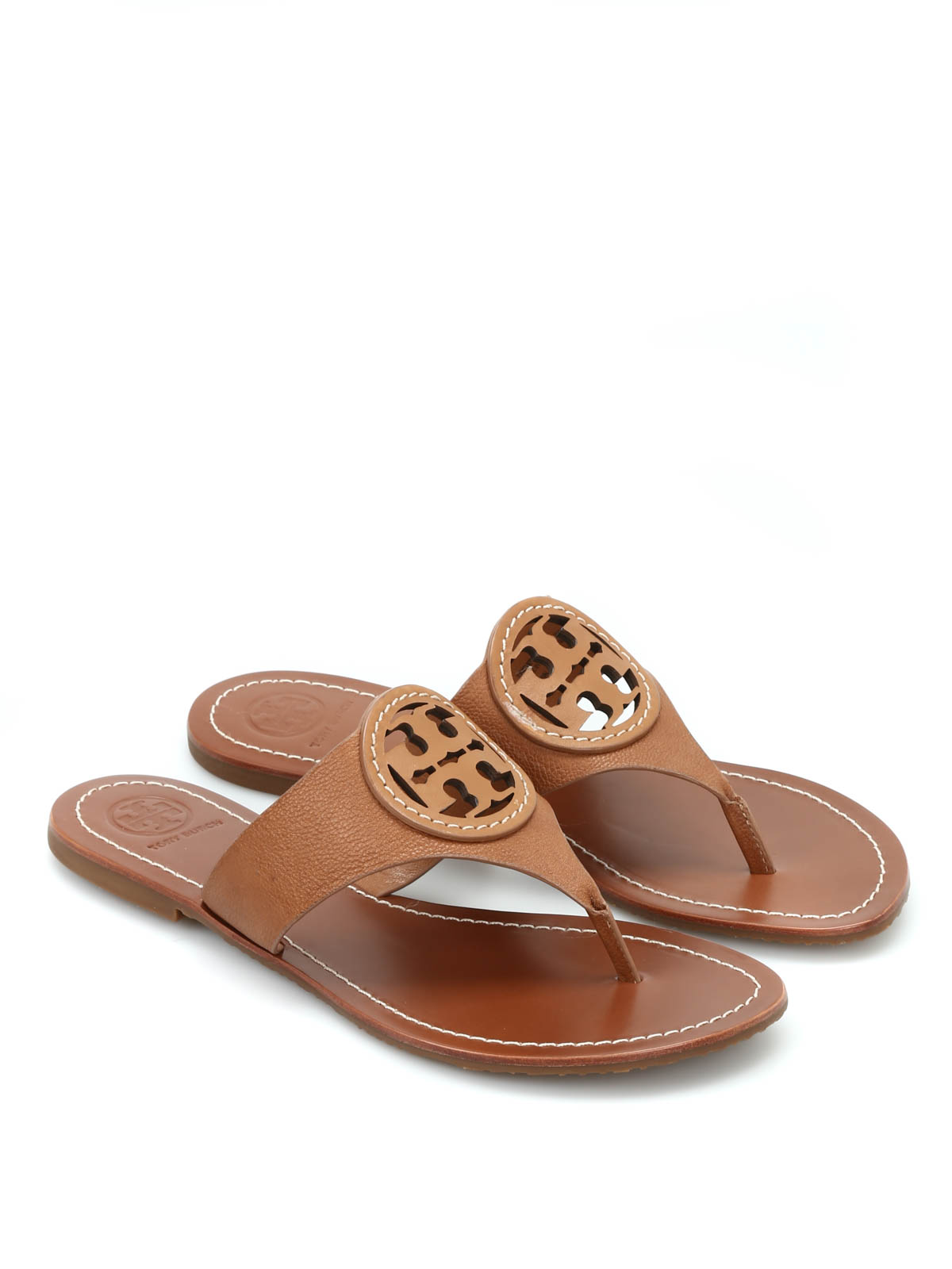 louisa leather thong sandals by tory burch flip flops. Black Bedroom Furniture Sets. Home Design Ideas