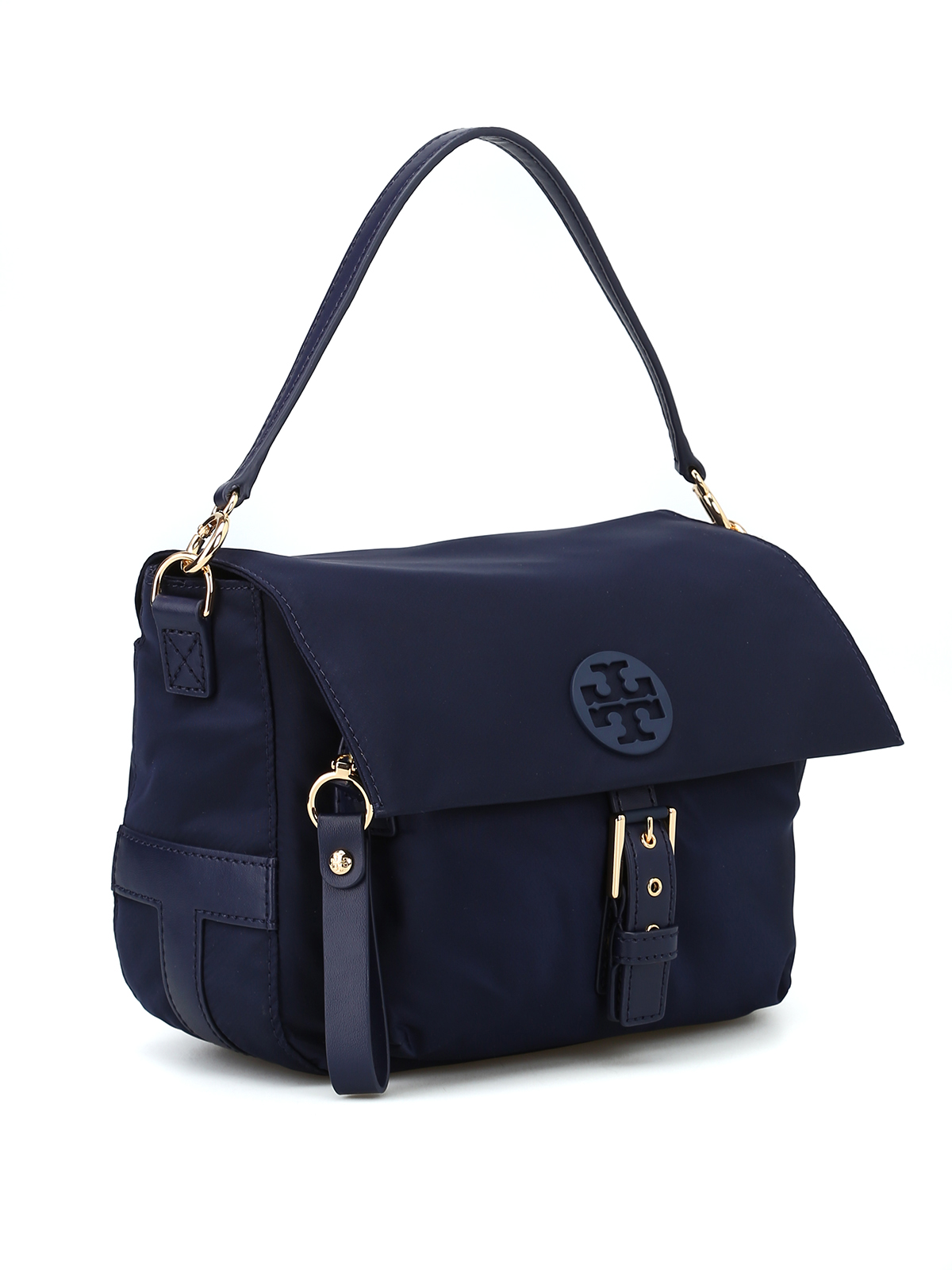 Tory Burch Cross Body Bags Online Tilda Blue Nylon Bag