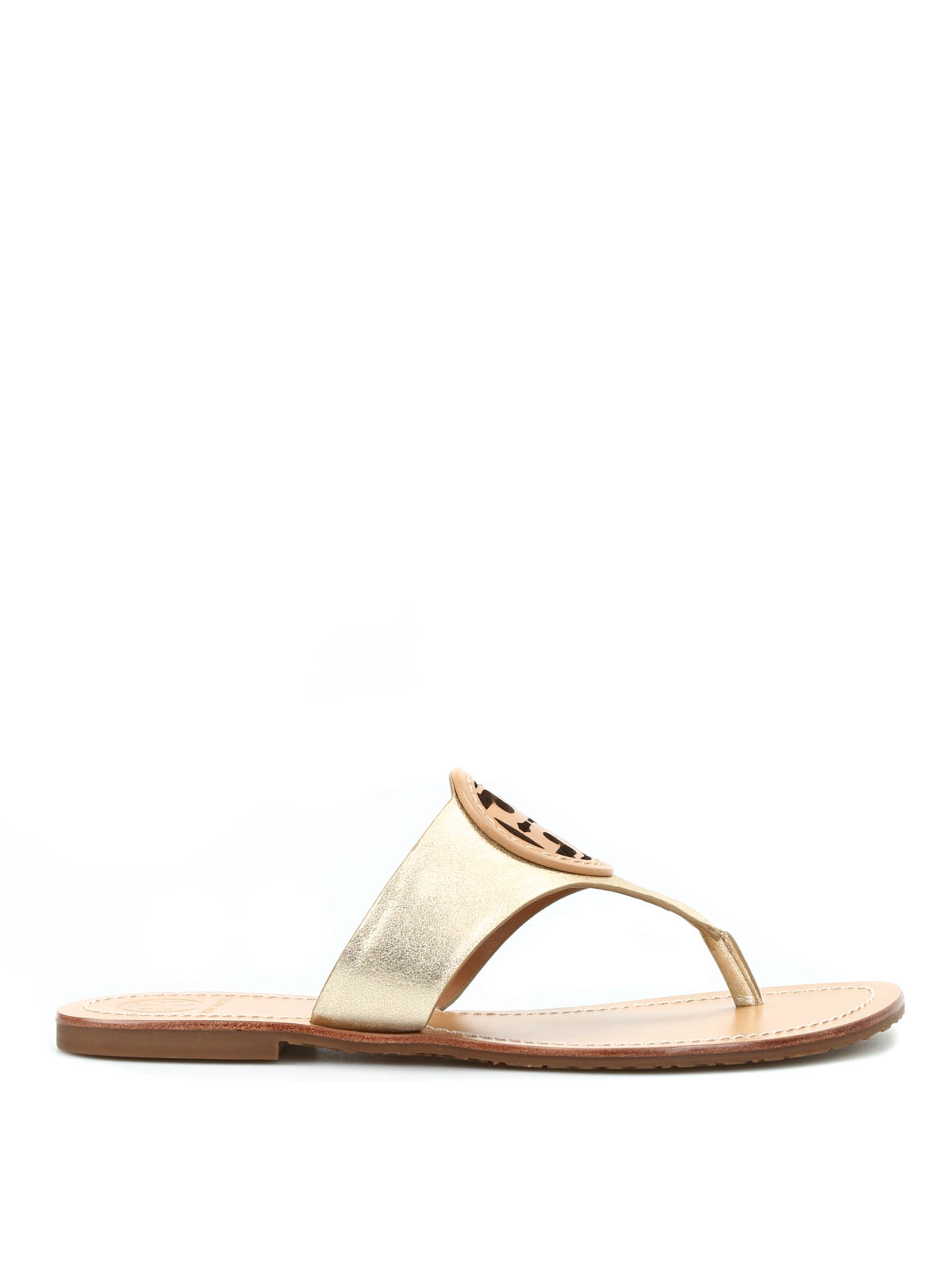 7067e4107 Tory Burch - Louisa leather thong sandals - flip flops - 22158537 058
