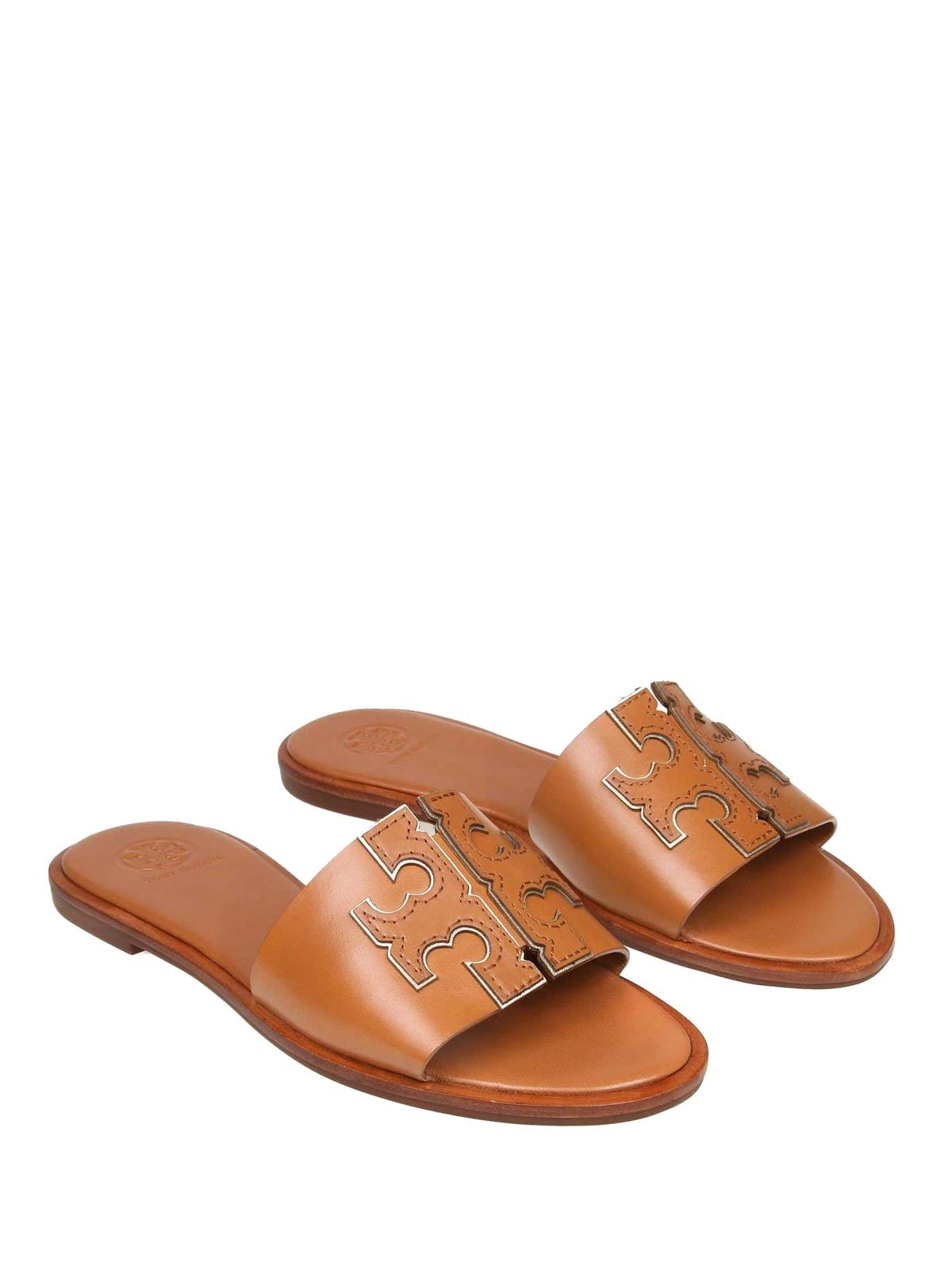 6d31e0f90056 Tory Burch - Ines leather slide sandals - sandals - 50109 250 ...