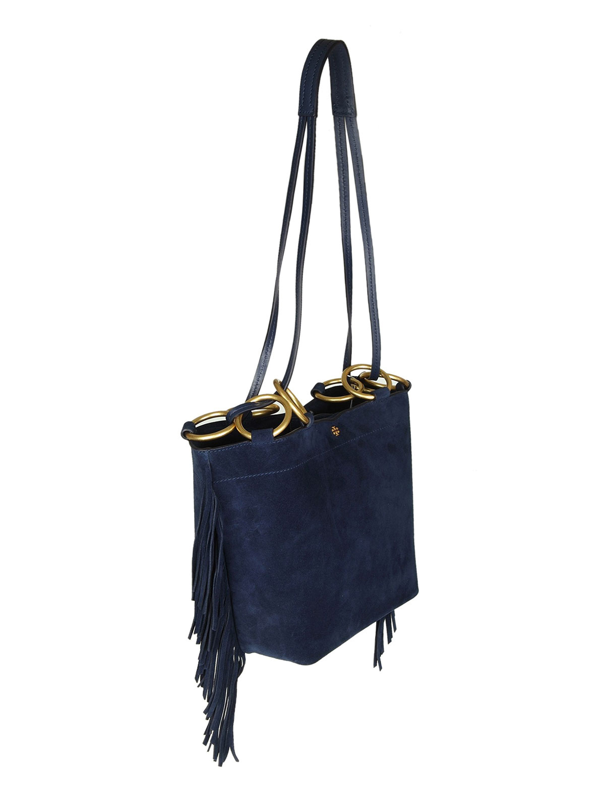 0b9b8ddbd5a Tory Burch - Farrah Fringe small leather bag - shoulder bags - 49244403
