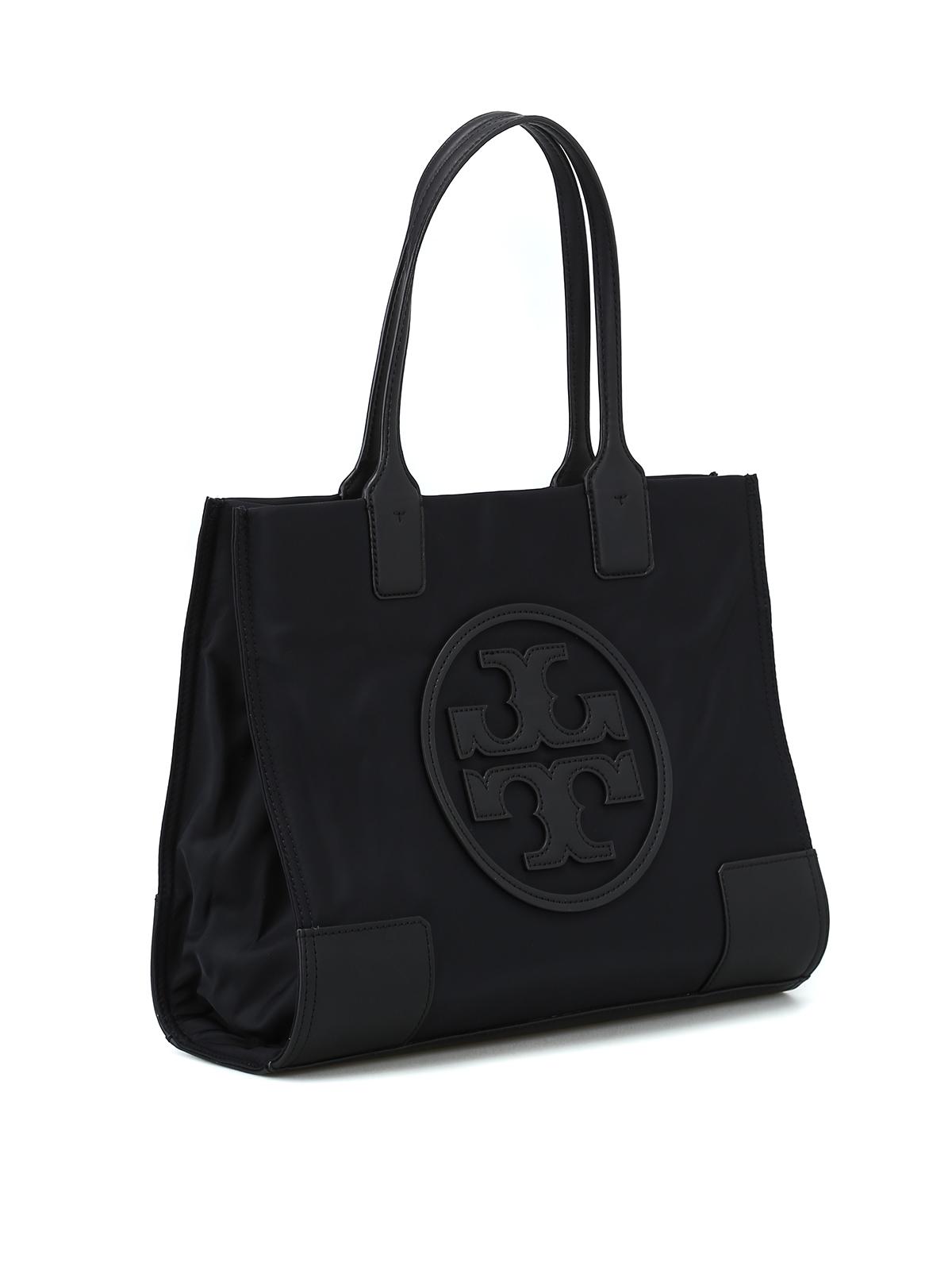 93be422160d Tory Burch - Ella Mini black nylon tote - totes bags - 45211 001