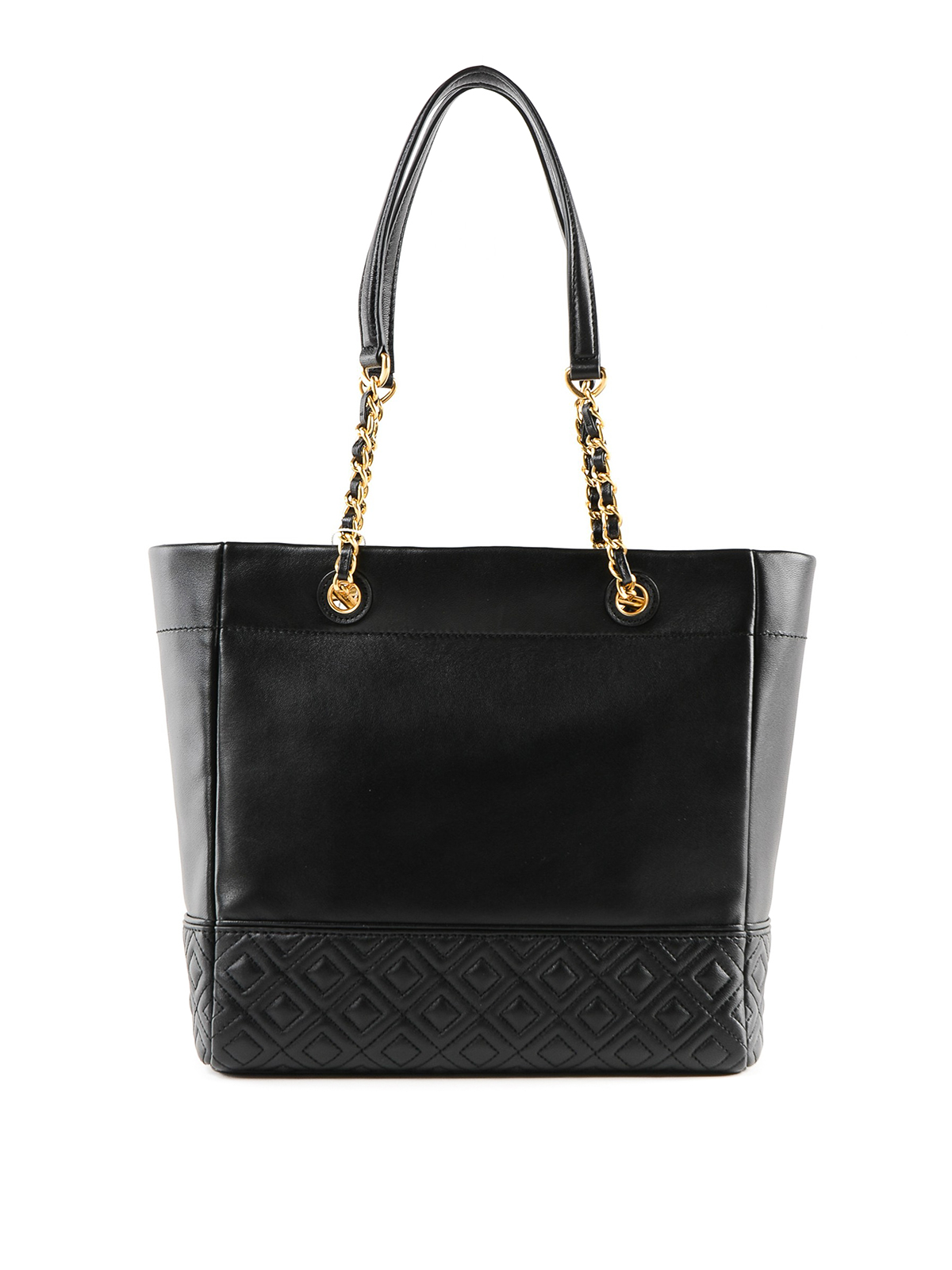 aecfe0bb3ac TORY BURCH  totes bags online - Fleming golden chain leather tote bag