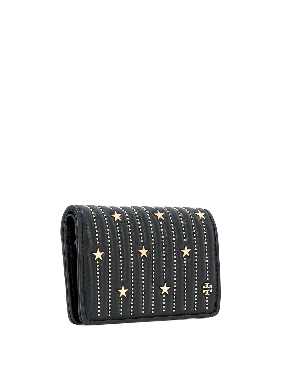 f69ab174e16 Tory Burch - Star stud slim medium wallet - wallets   purses - 52202001