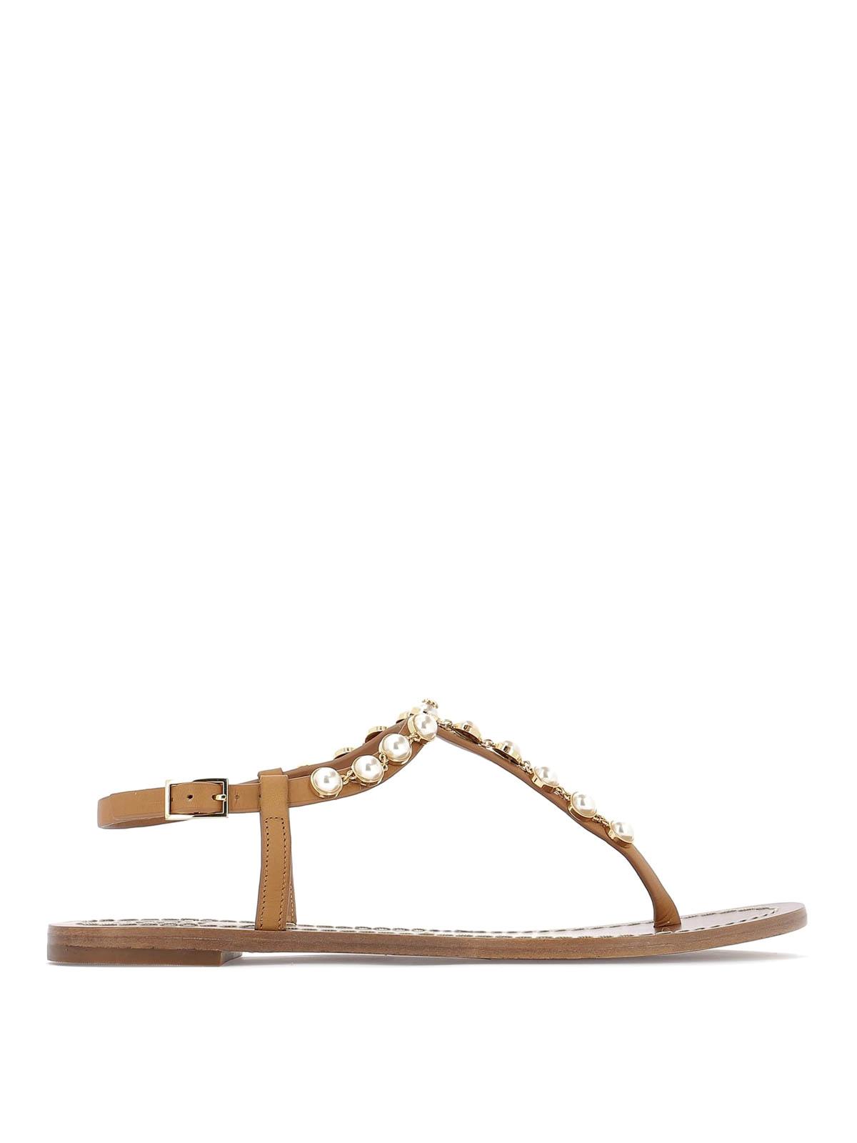 b10a85b52af9 Tory Burch - Emmy pearl thong flat sandals - sandals - 52011240