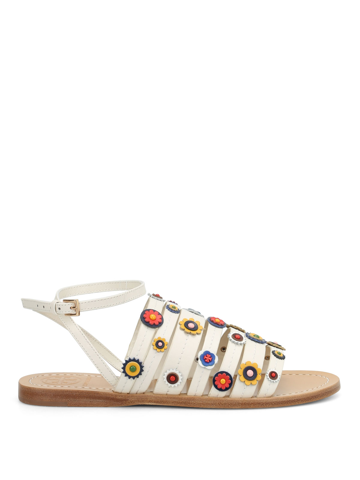 Marguerite Flat Sandals By Tory Burch - Sandals | IKRIX