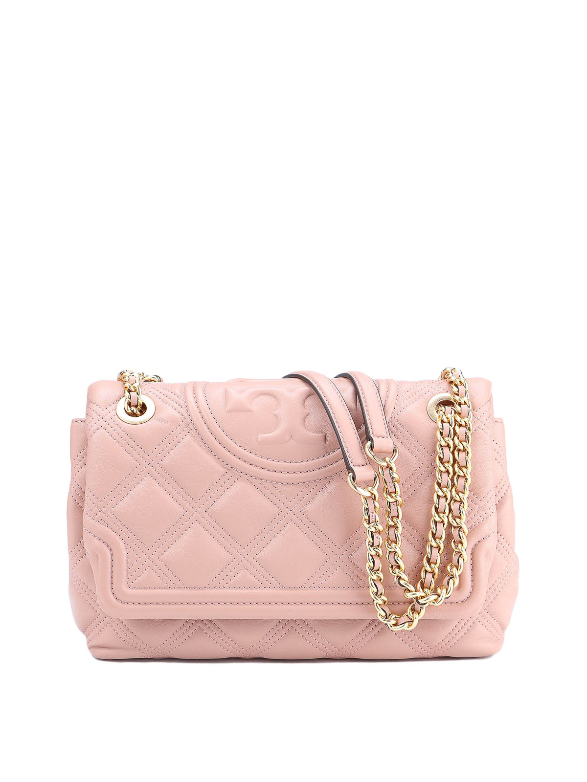 TORY BURCH CONVERTIBLE FLEMING SOFT LEATHER BAG