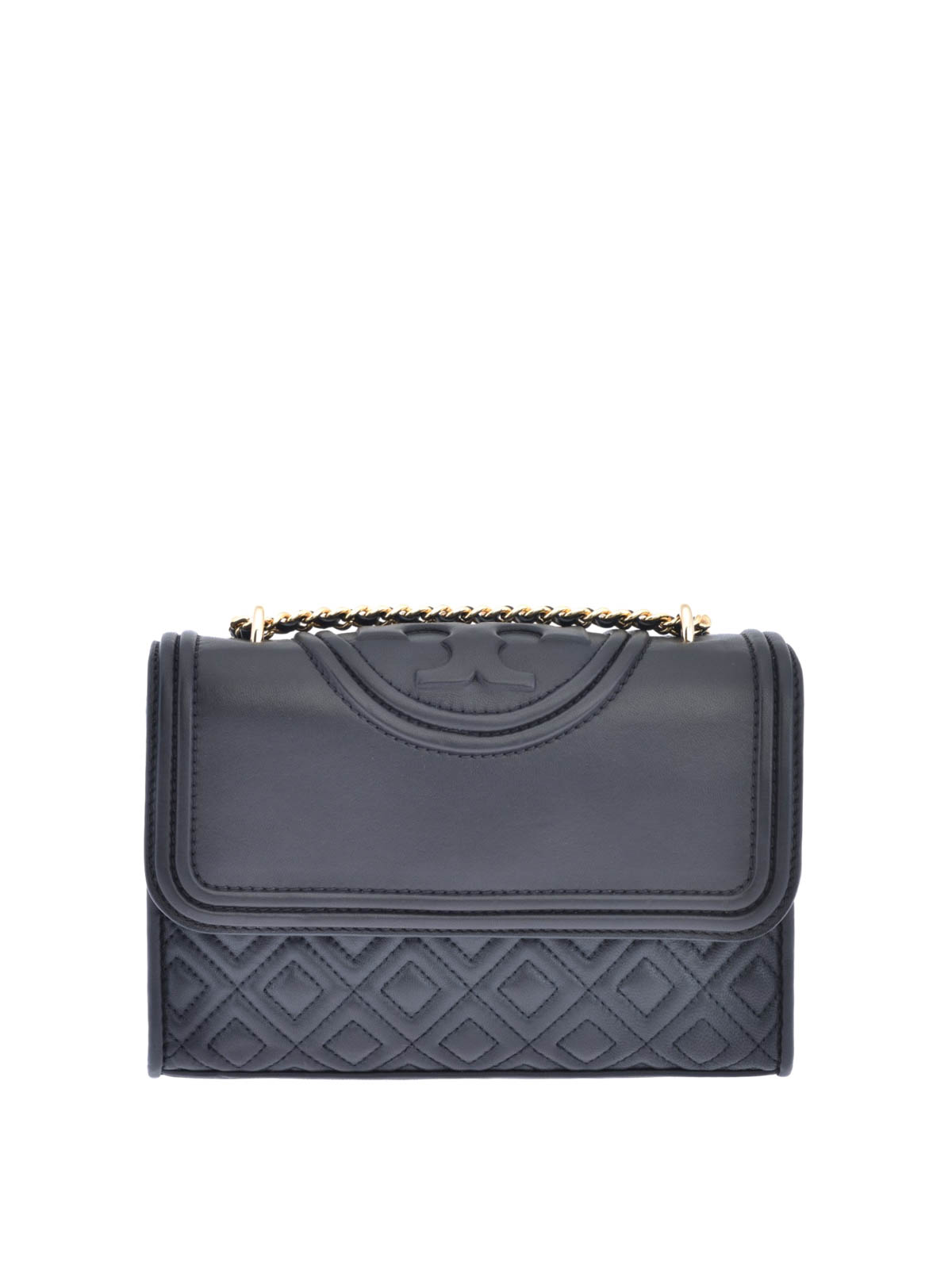 0bc9ce6351 Tory Burch - Fleming quilted leather small bag - shoulder bags ...