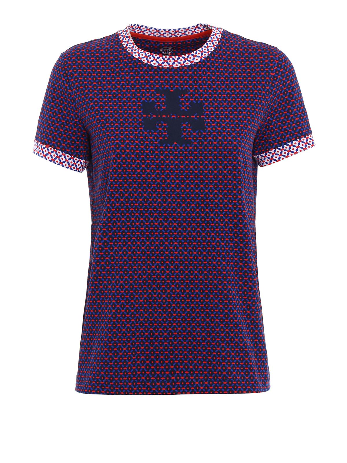 Kendall t shirt by tory burch t shirts ikrix for Tory burch t shirt
