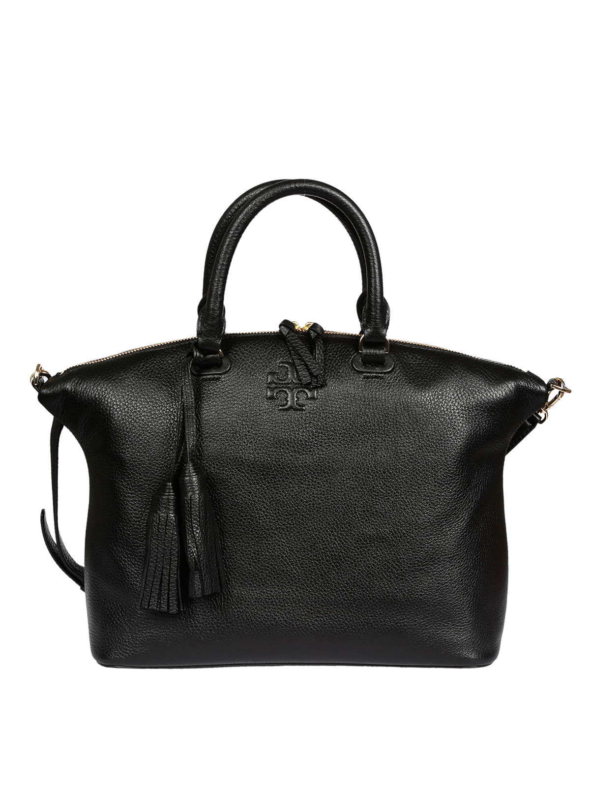 eae905a4926 Thea Medium leather shopping bag by Tory Burch - totes .