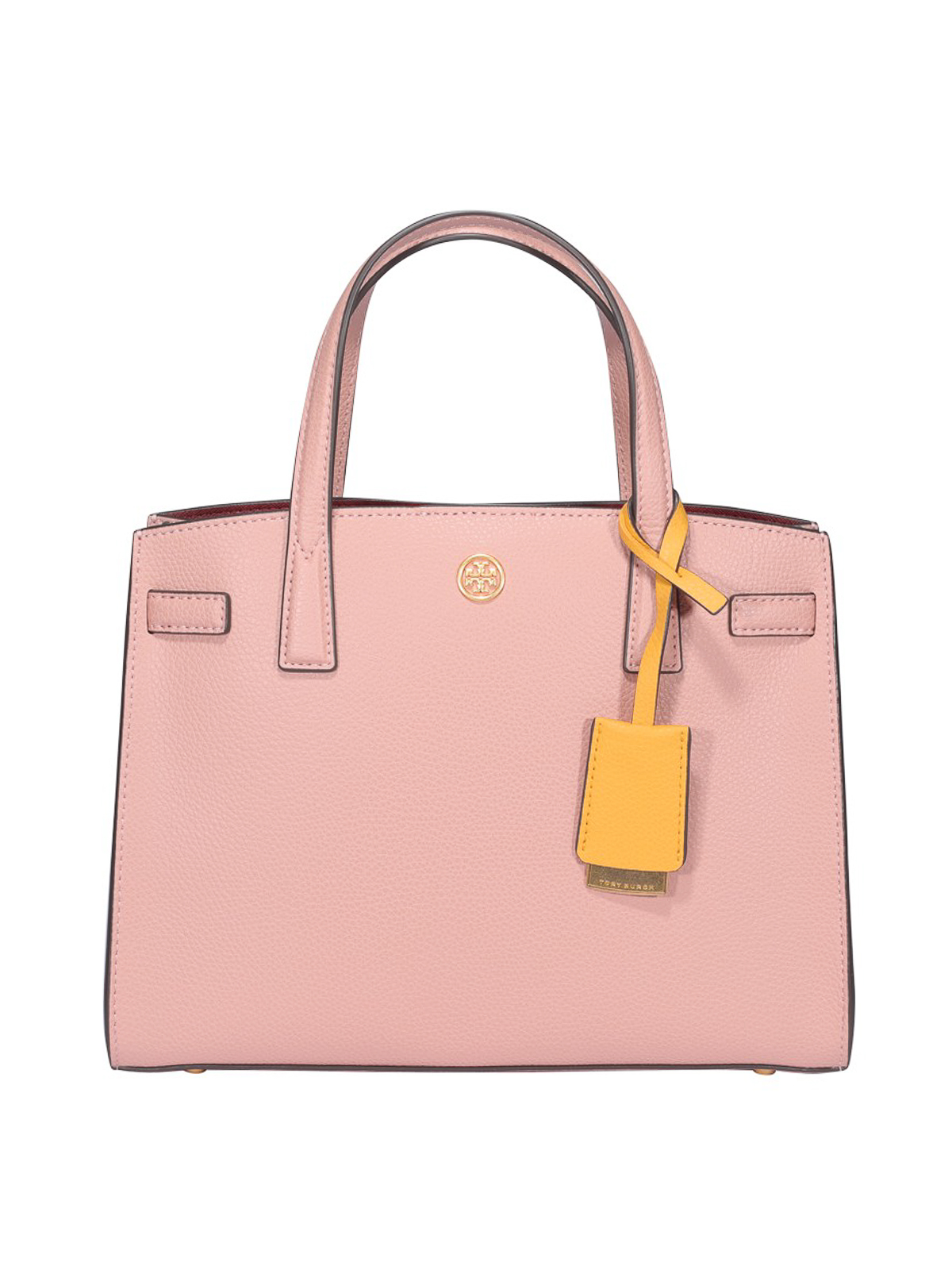 Tory Burch Walker Small Tote In Pink
