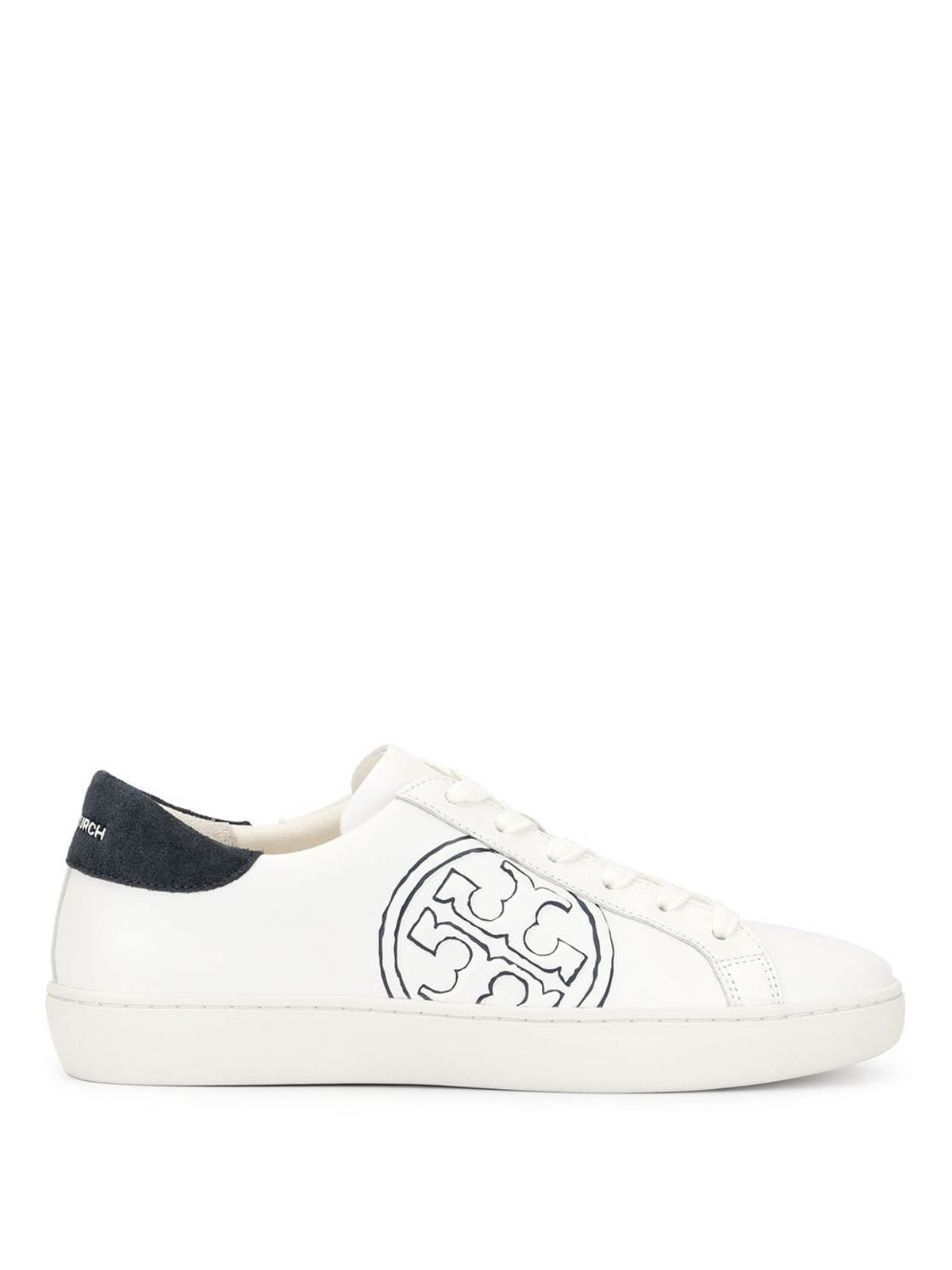 Tory Burch - T-Logo leather sneakers