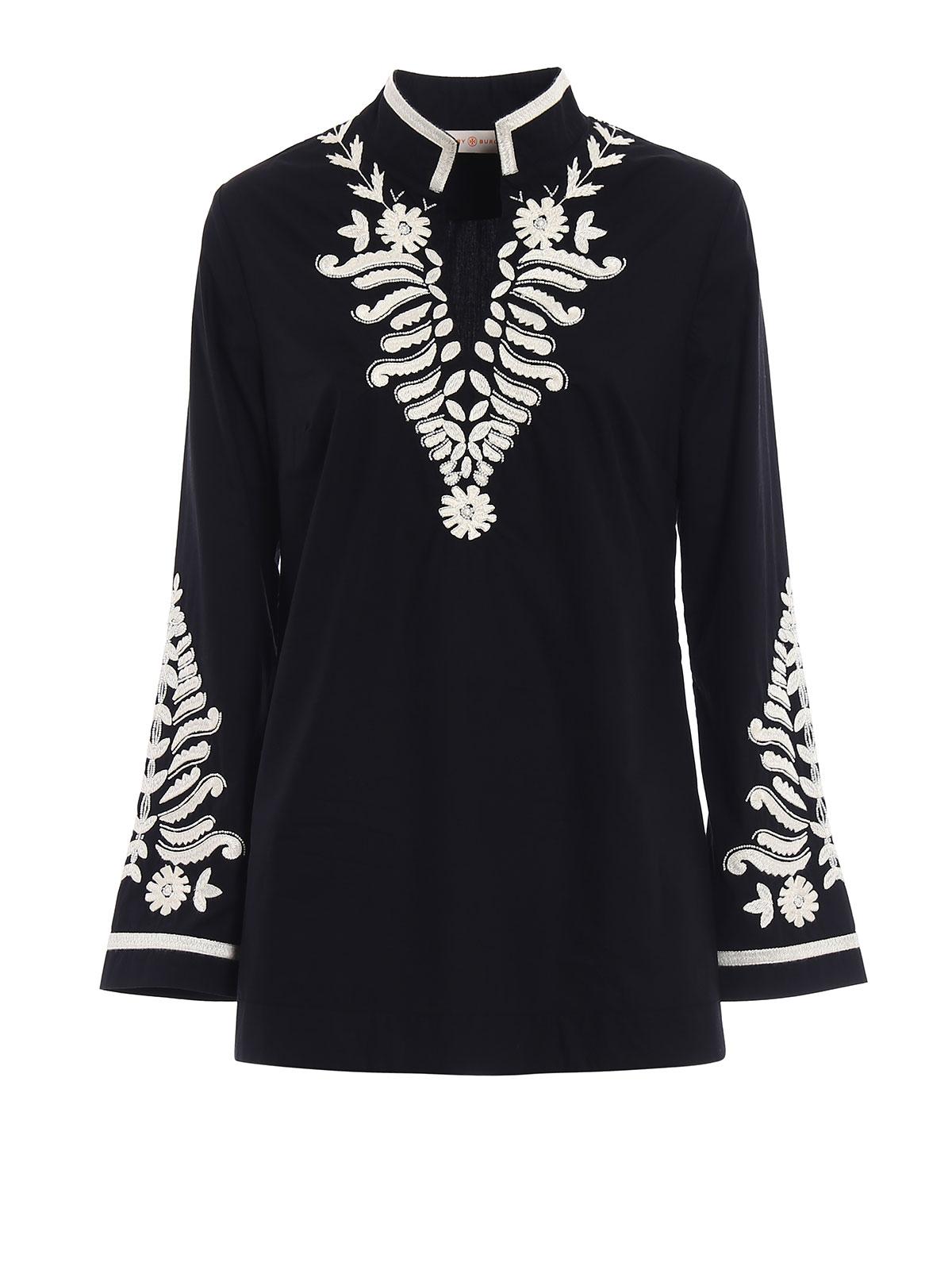 93389db92f Tory Burch - Tory bead and embroidery tunic - tunics - 43769887