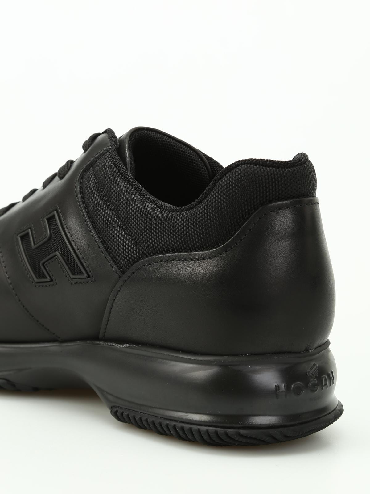 Hogan - Total black Interactive sneakers - trainers - HXM00N0Y720HJQB999 0ef3baa33ff
