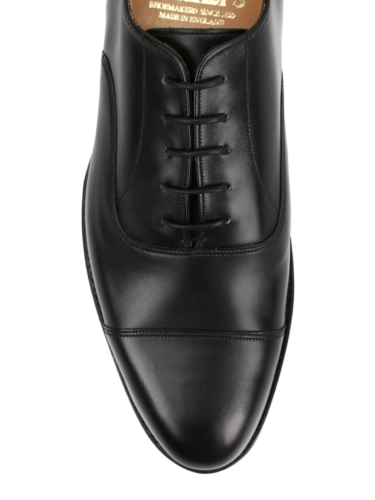 Oxford leather lace-ups by Tricker's