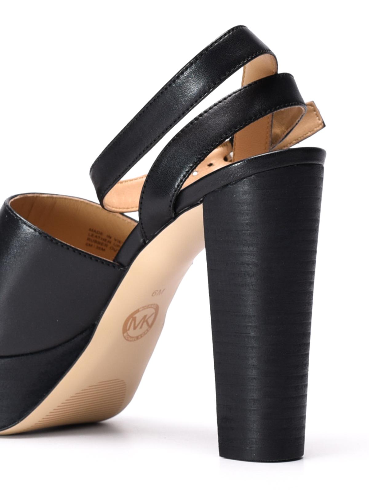d202a19c1859 Michael Kors - Trina platform leather sandals - sandals - 40R7TNMS1L 001