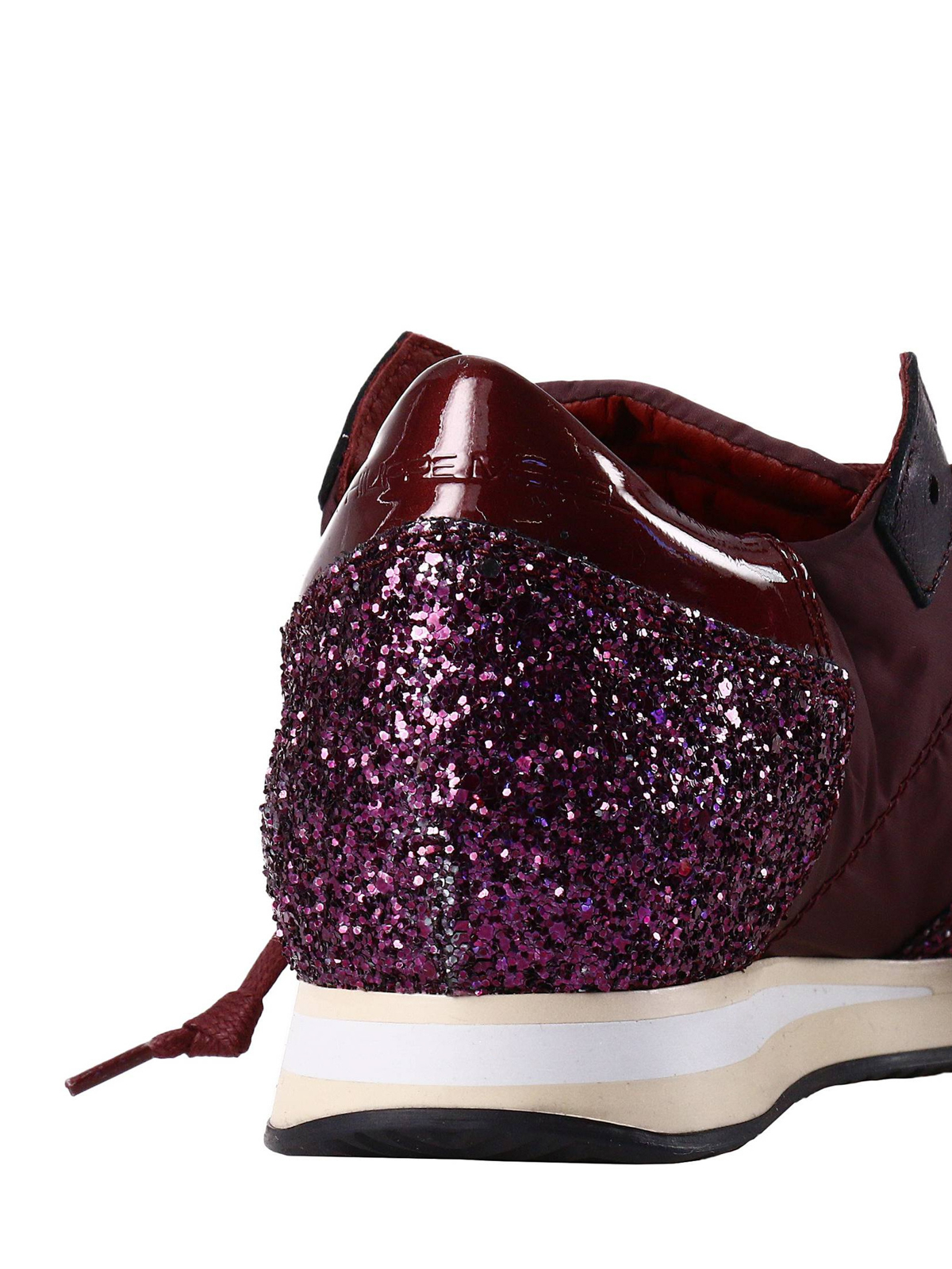 sneaker tropez in nylon con glitter philippe model sneakers ikrix. Black Bedroom Furniture Sets. Home Design Ideas