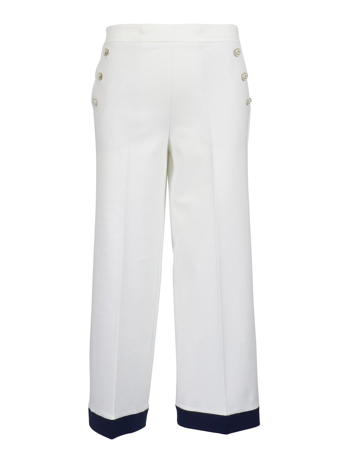 Twinset Pants VISCOSE BLEND PANTS