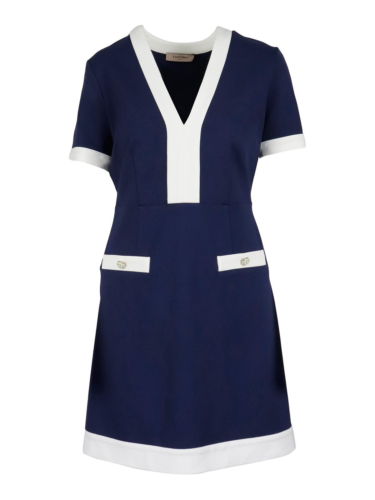 Twinset Dresses VISCOSE BLEND DRESS