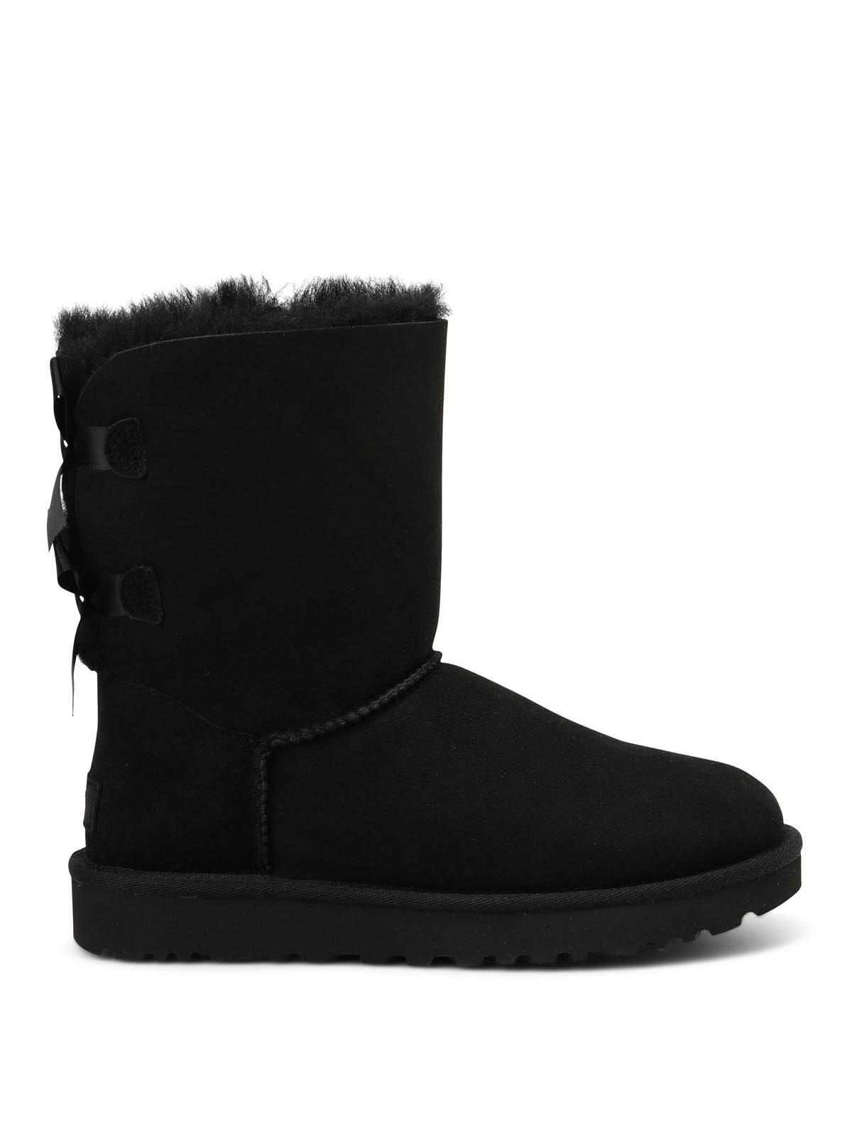 bailey bow suede ankle boots by ugg ankle boots shop. Black Bedroom Furniture Sets. Home Design Ideas