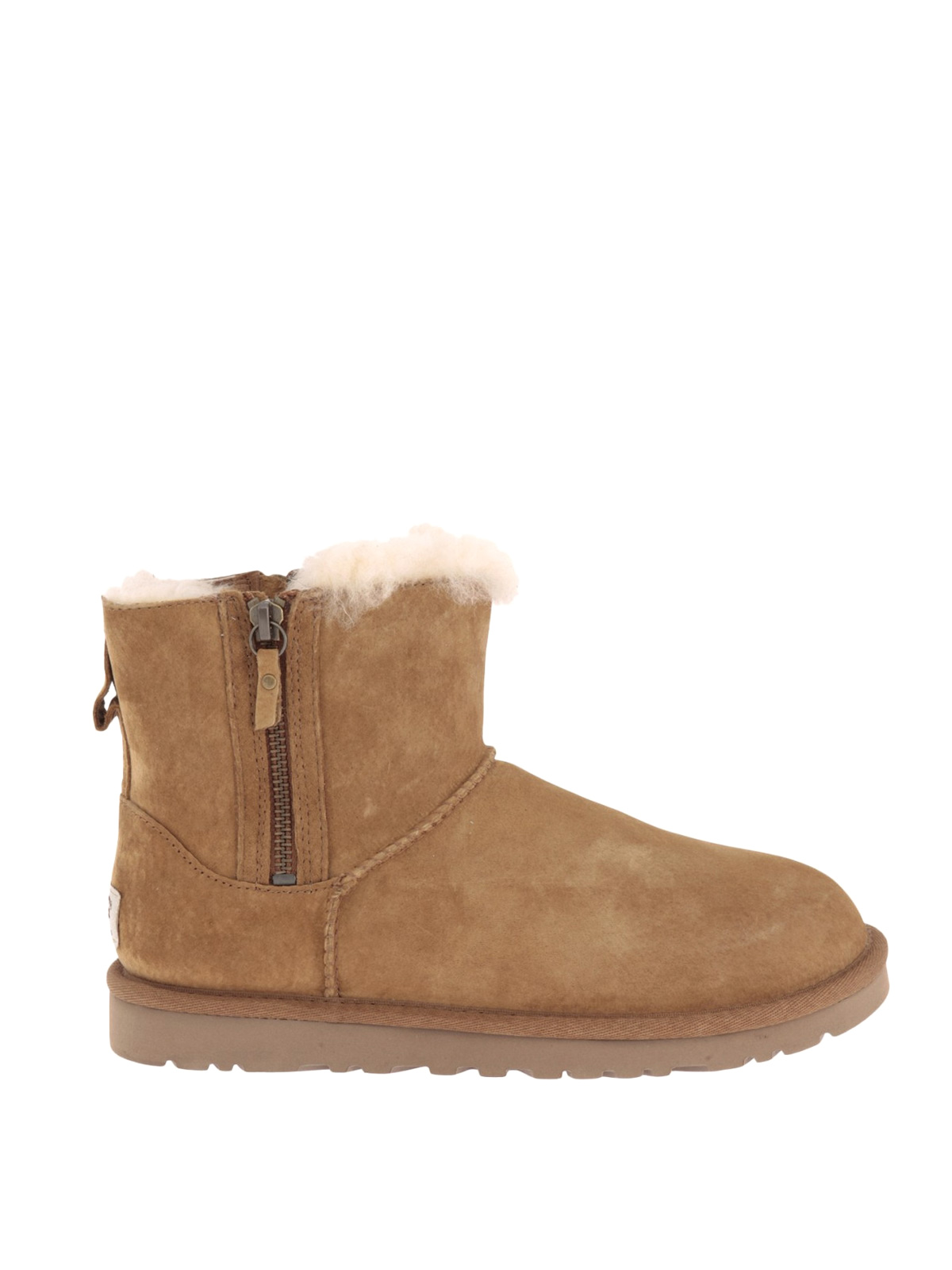 Ugg Classic Mini double zip booties ankle boots
