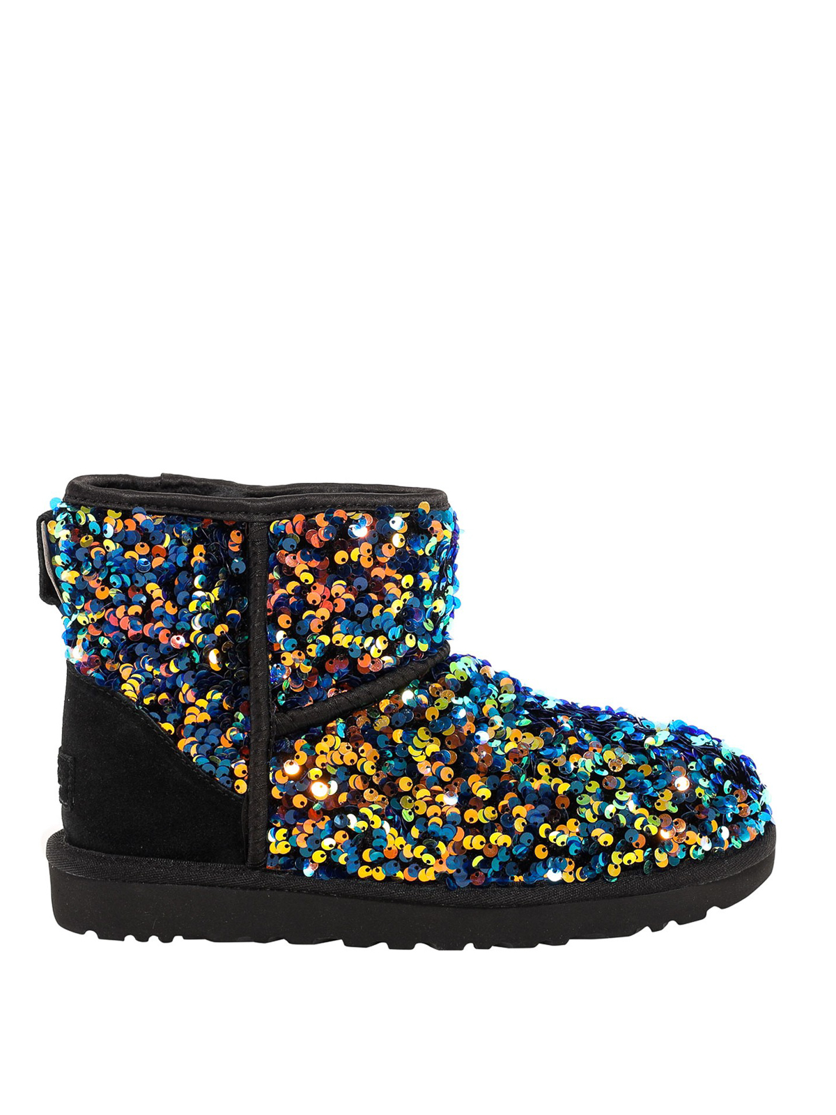 Ugg CLASSIC MINI GLITTER ANKLE BOOTS
