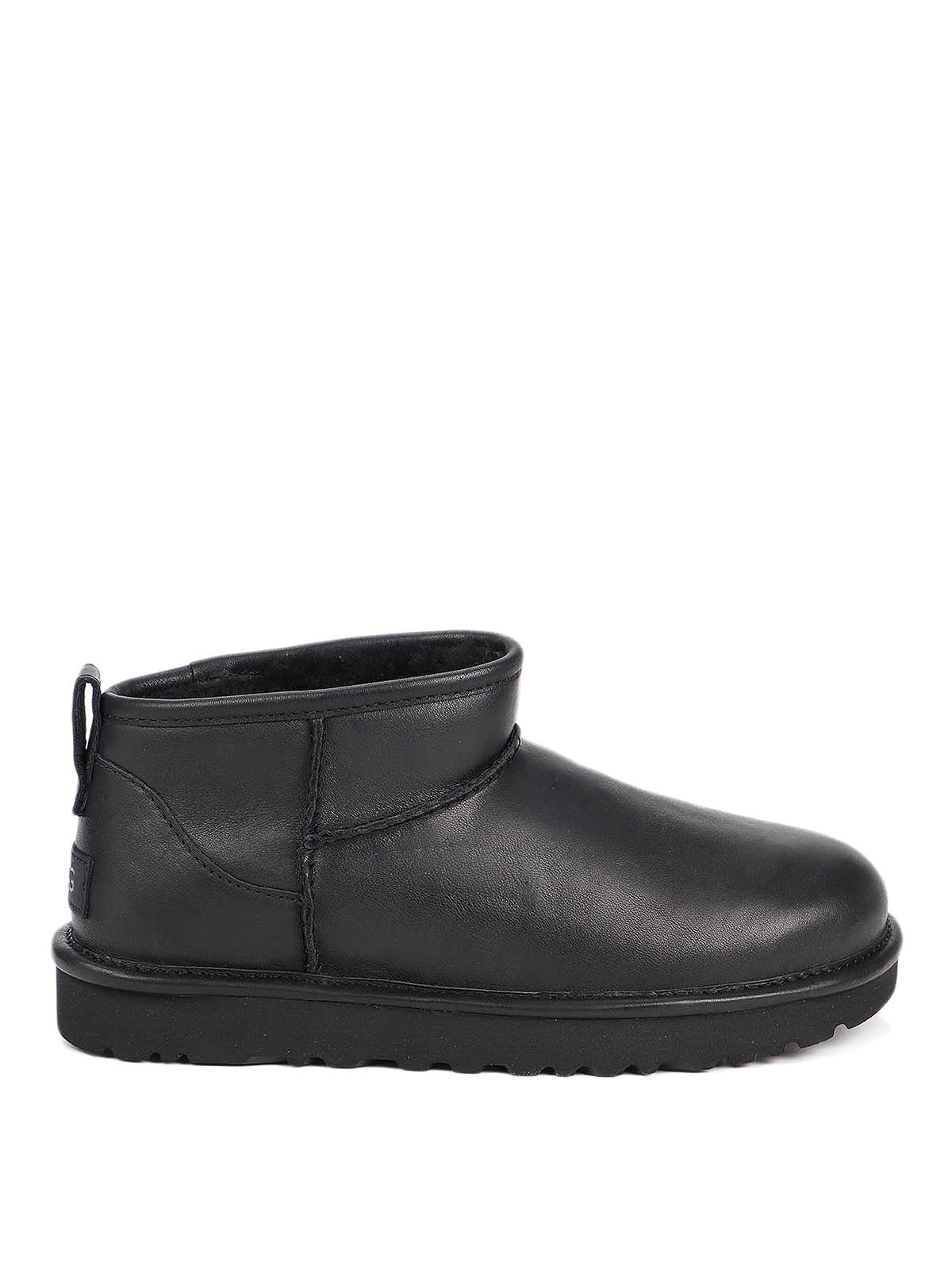 Ugg Leathers CLASSIC ULTRA MINI ANKLE BOOTS