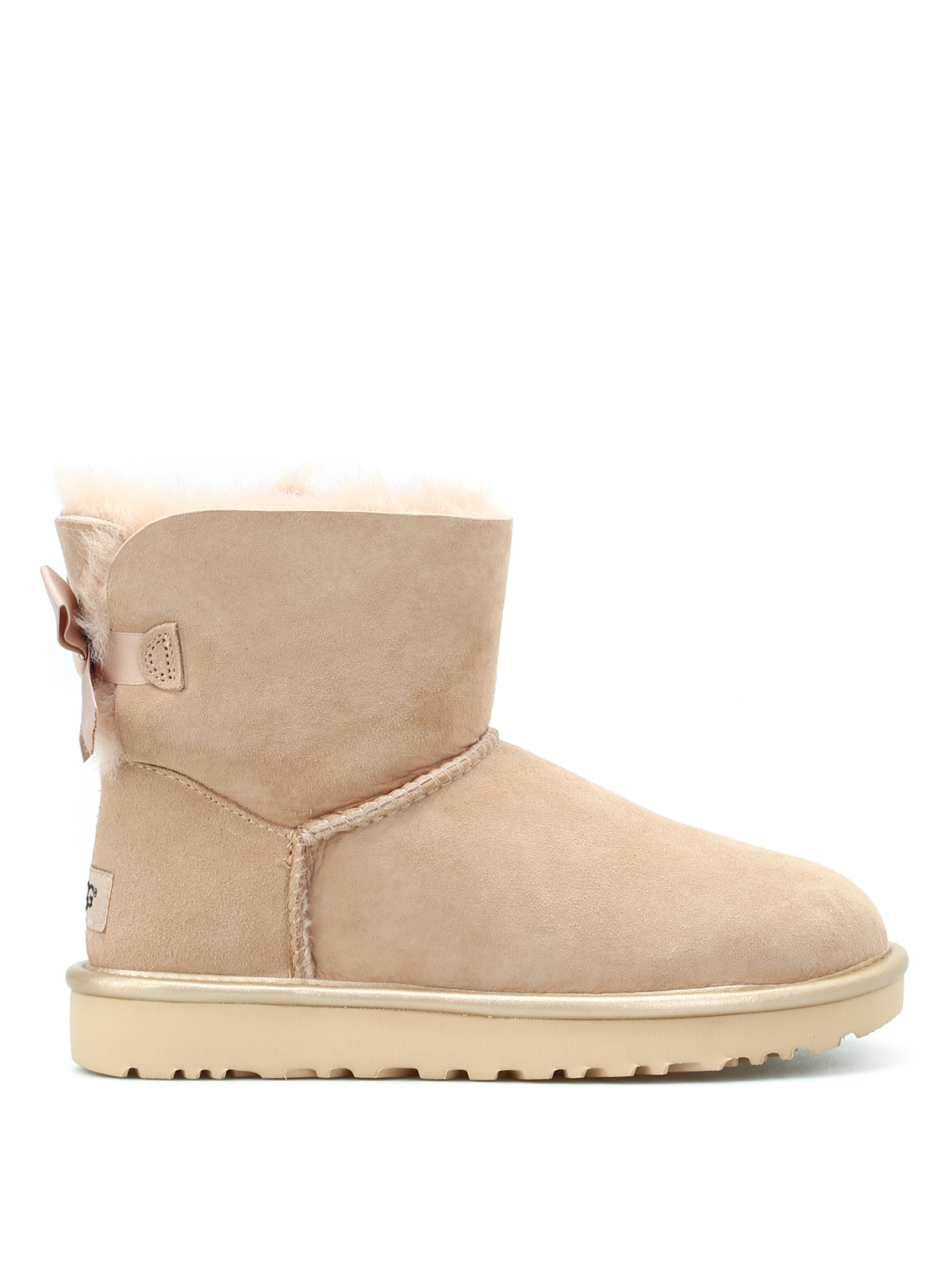 28989ff26f1 Ugg - Mini Bailey Bow II soft booties - ankle boots - 1019032WDRI
