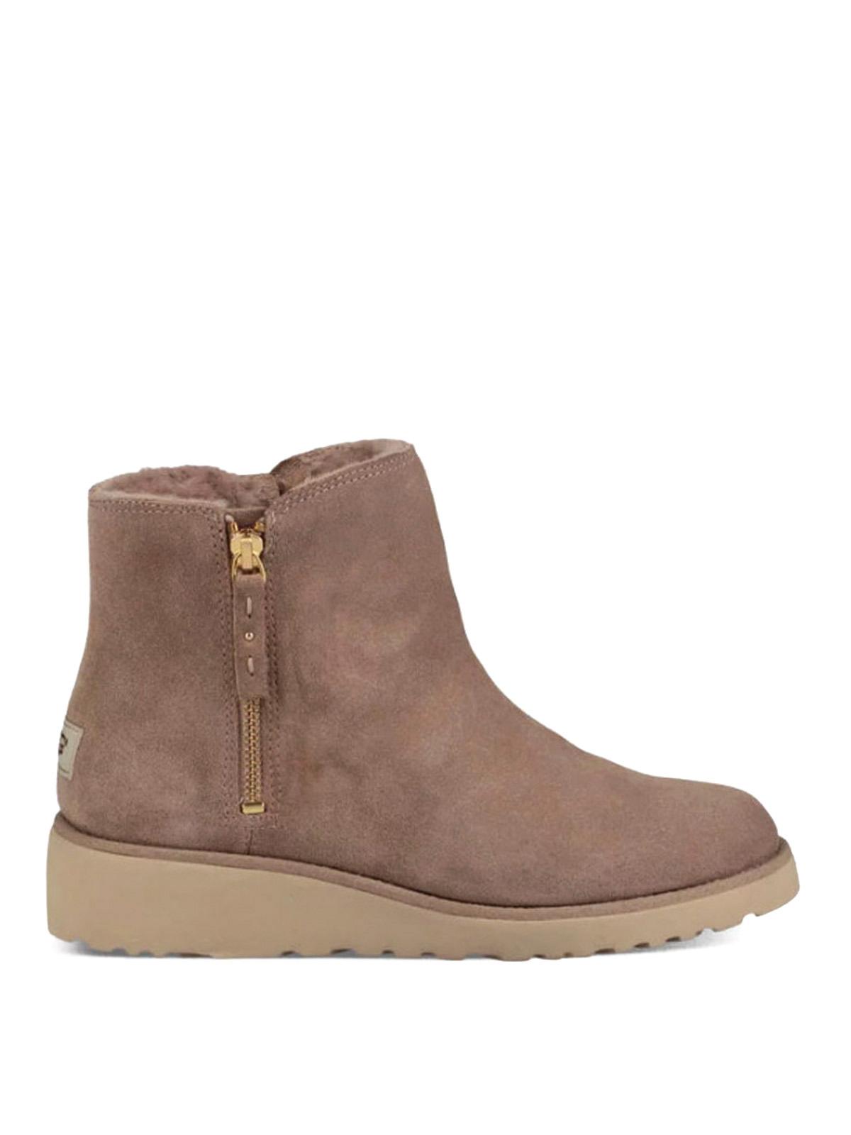 shala beige suede ankle boots by ugg ankle boots ikrix. Black Bedroom Furniture Sets. Home Design Ideas