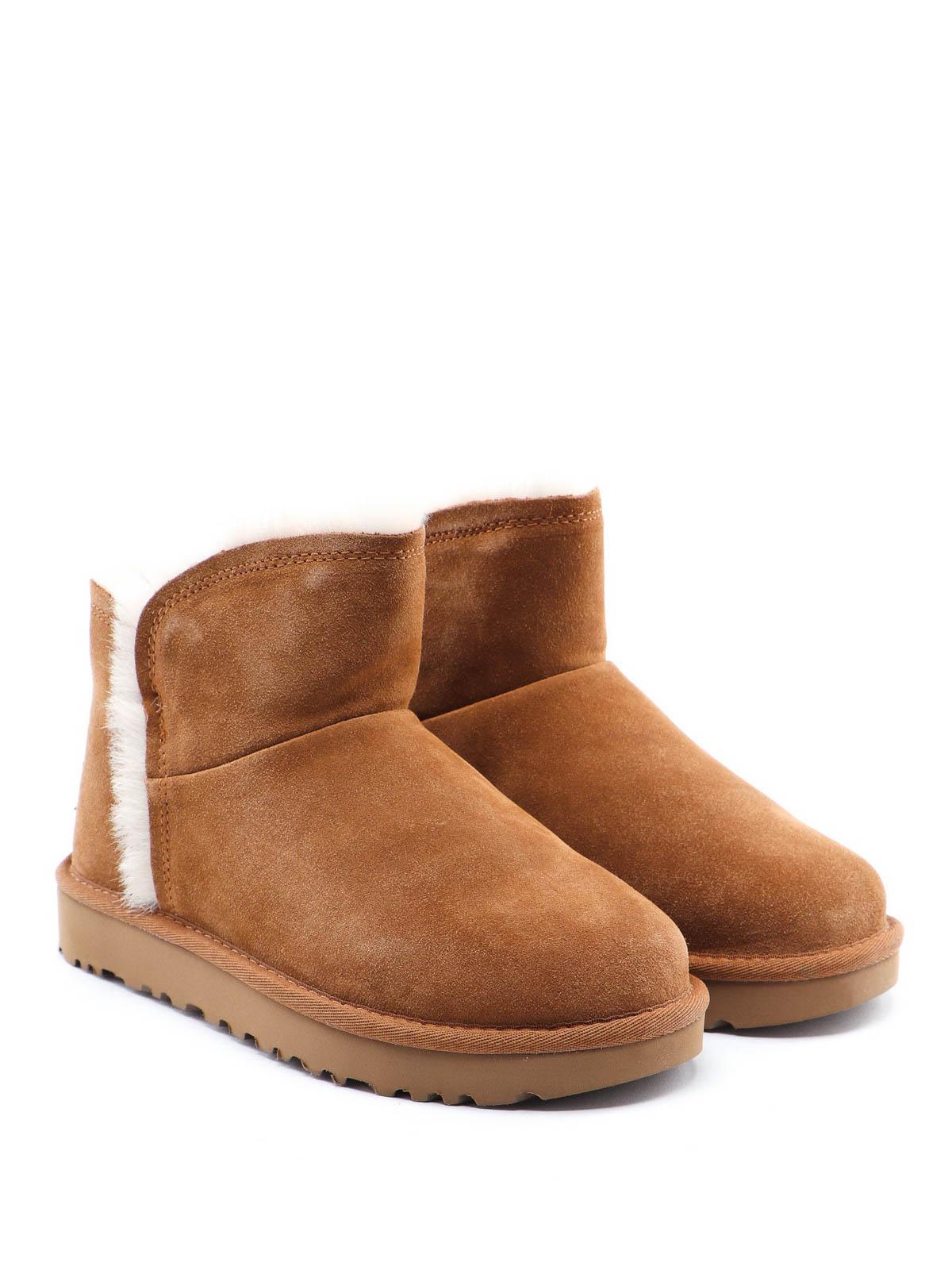 UGG Women's Classic Mini Fluff Hi Lo Sheepskin Boots
