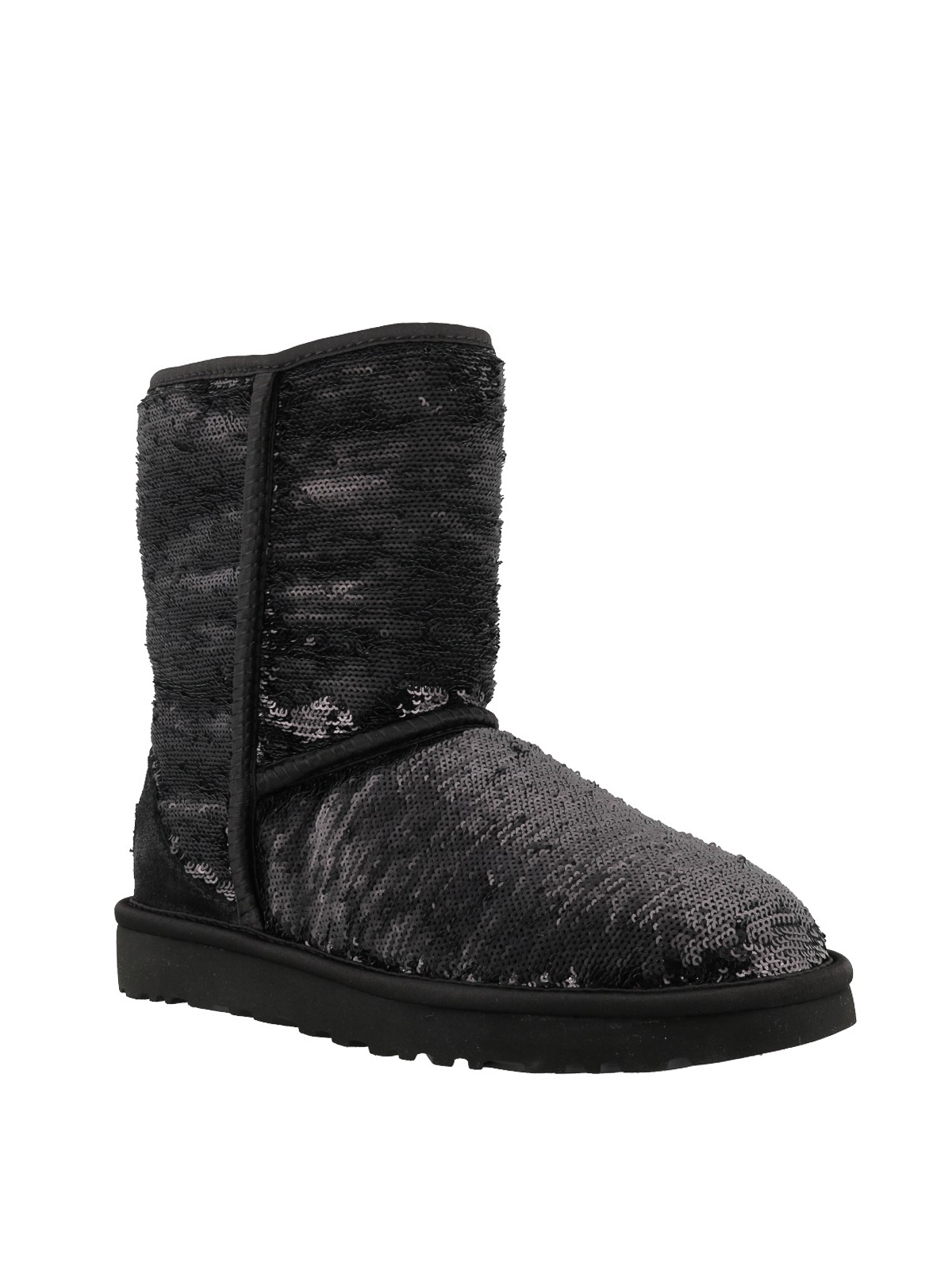 Womens UGG® Classic Short II Cosmos Boot Black
