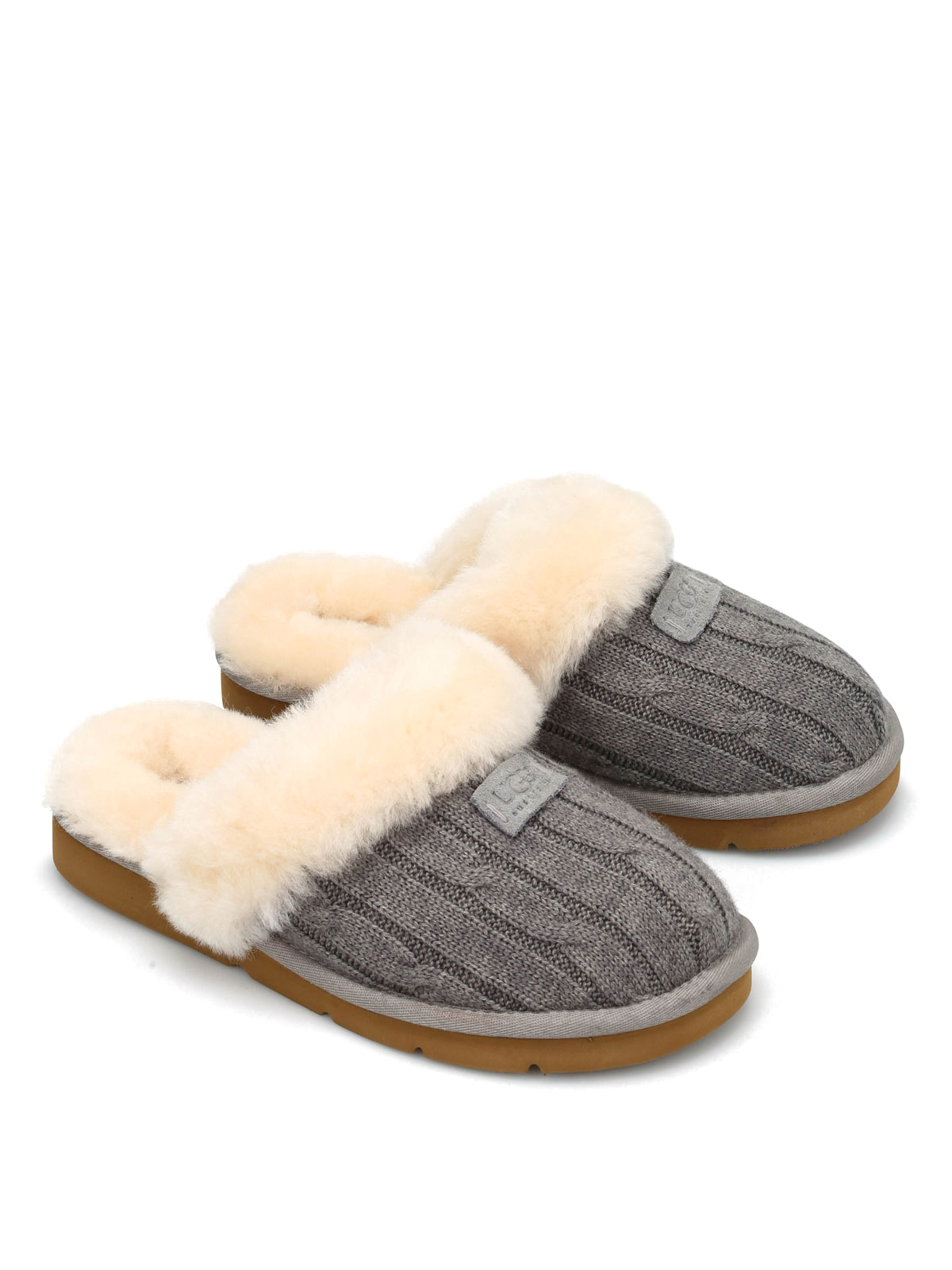Ugg Cozy Knit Shearling Slippers Loafers Slippers 1865 W Hgr