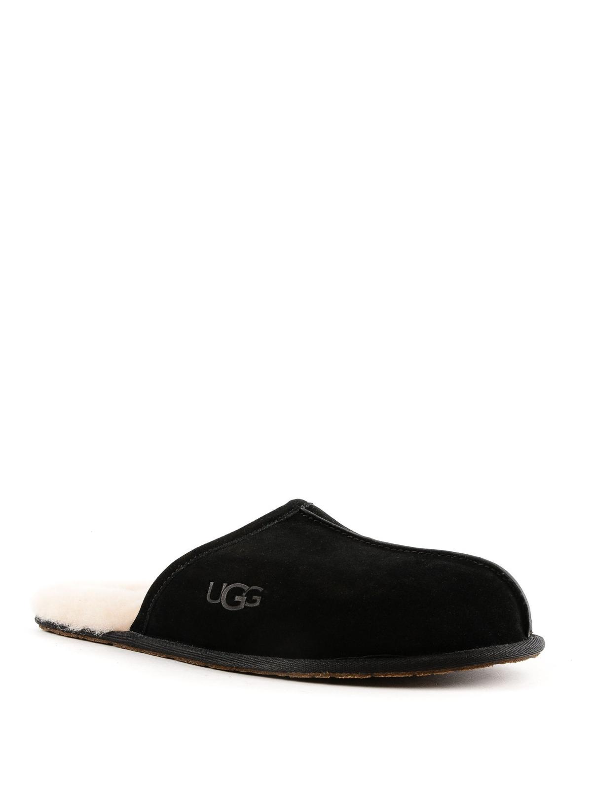 bb576f512f9 Ugg - Scuff suede slippers - Loafers & Slippers - 1101111SCUFFBLK