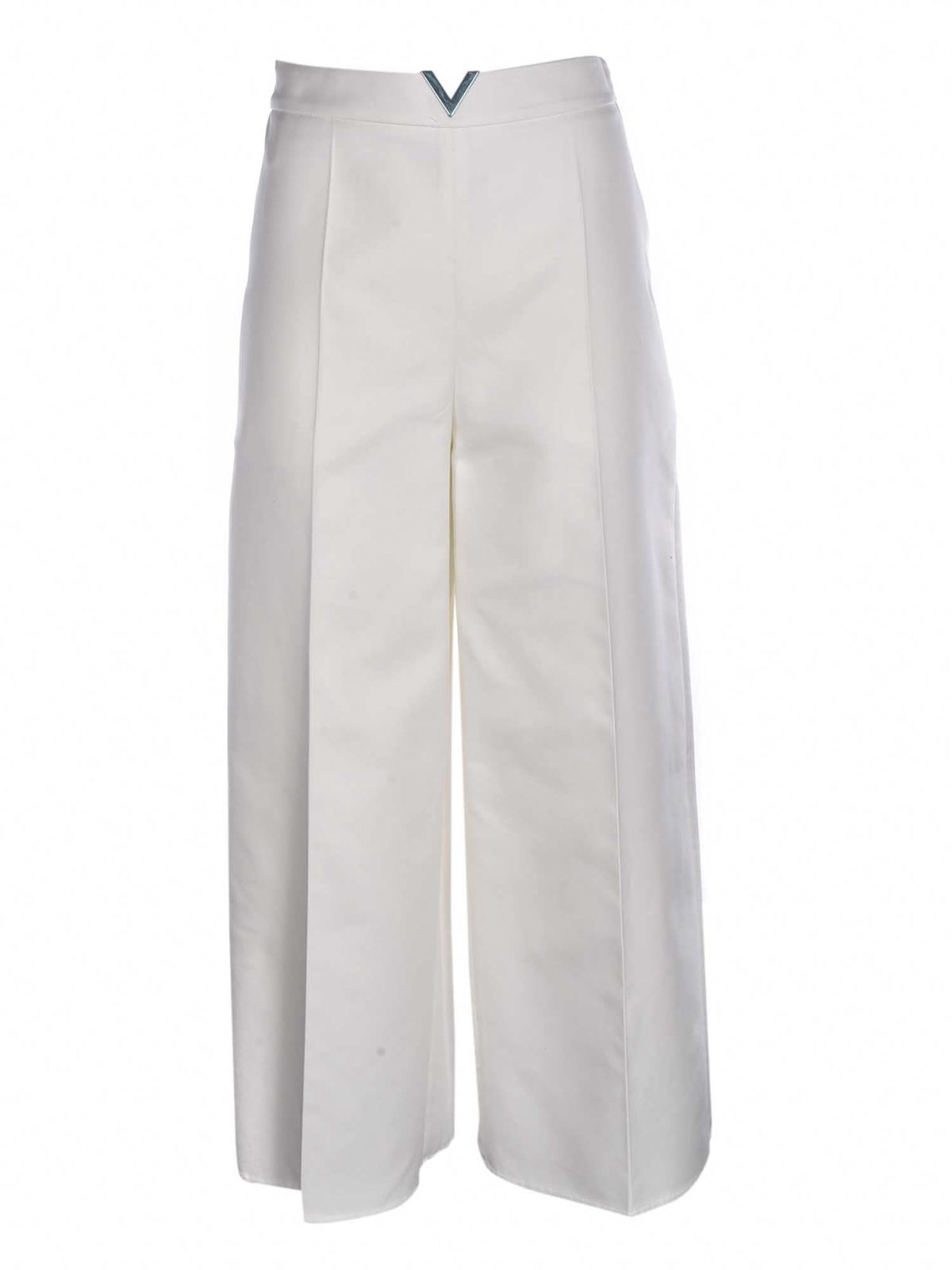 Valentino Downs METAL DETAIL TROUSERS