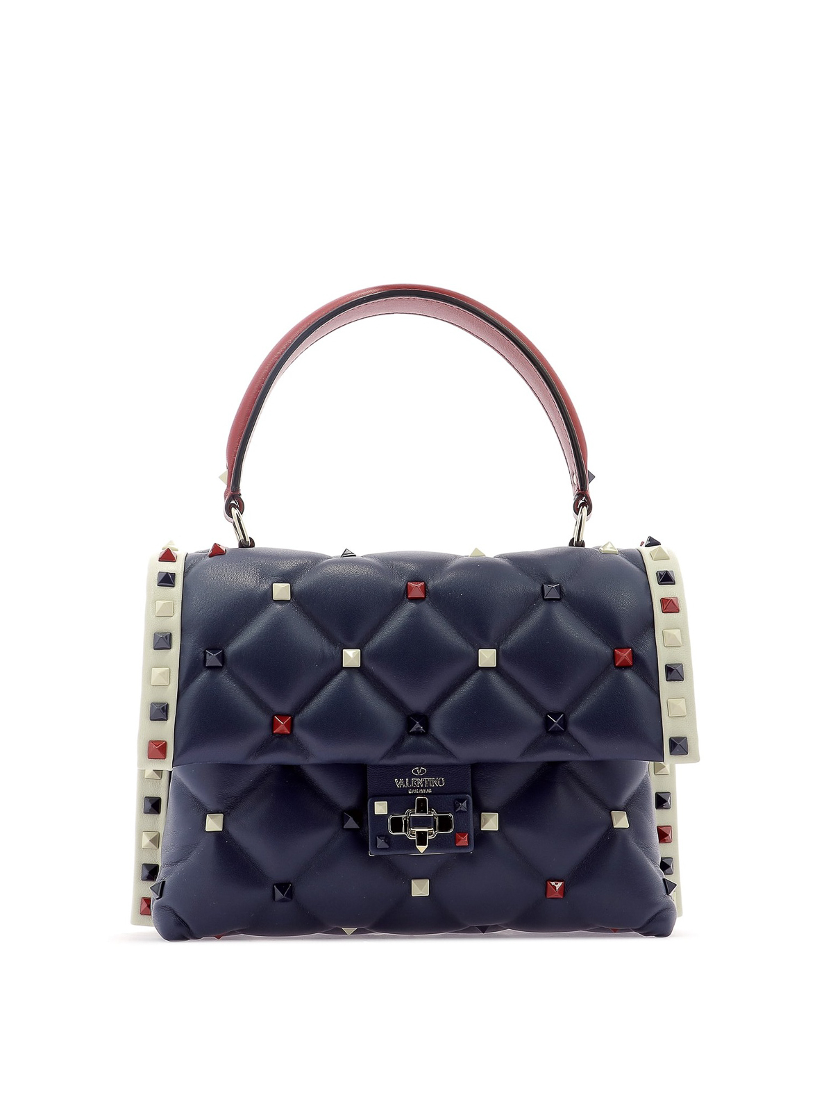 af1120e2f64f Valentino Garavani - Candystud M quilted lambskin handbag - bowling ...