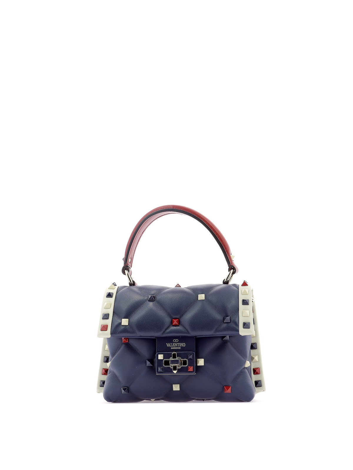 37f11823f8d VALENTINO GARAVANI: bowling bags - Candystud mini quilted lambskin handbag