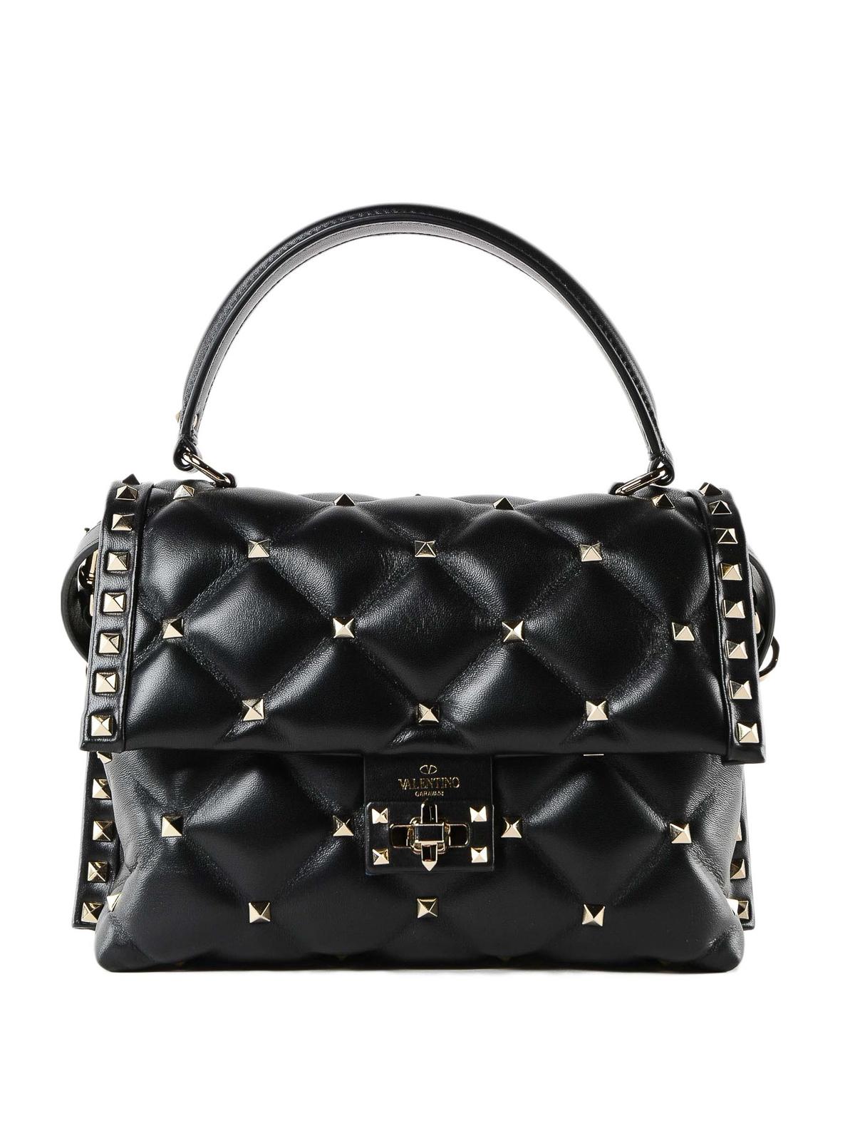 da682391a69f VALENTINO GARAVANI  bowling bags - Candystud quilted calfskin small handbag