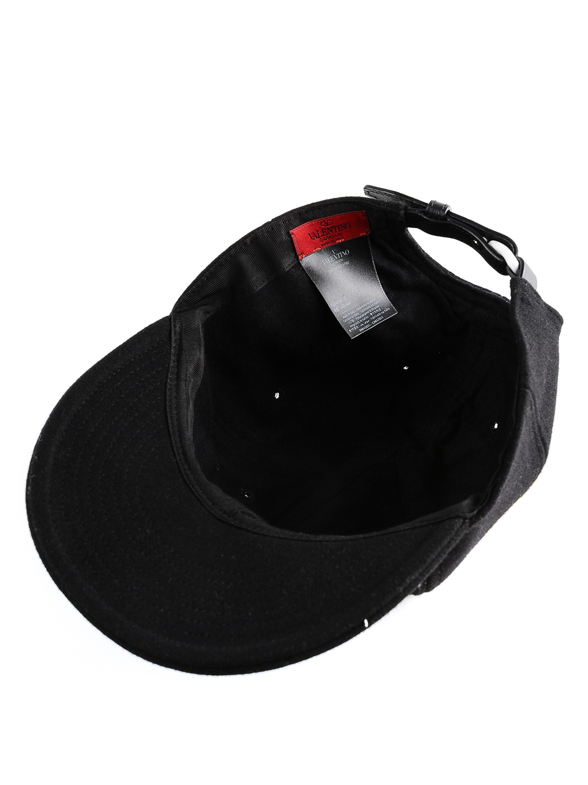 cf70b83c VALENTINO GARAVANI buy online VLTN embroidery baseball cap. VALENTINO  GARAVANI: hats & caps ...