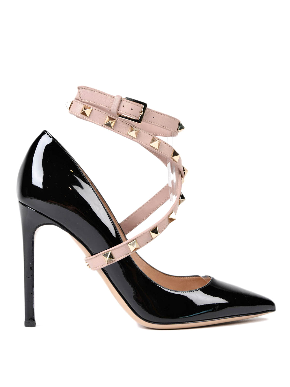 rockstud ankle strap pumps by valentino garavani court shoes ikrix. Black Bedroom Furniture Sets. Home Design Ideas