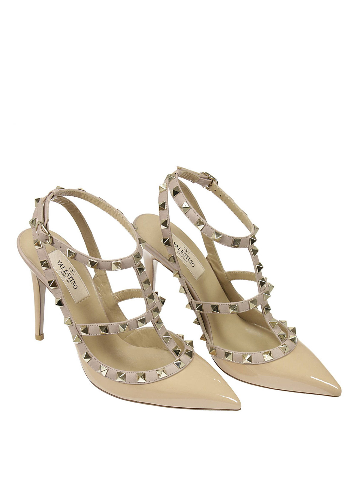 Valentino Garavani - Slingback Rockstud - court shoes ...