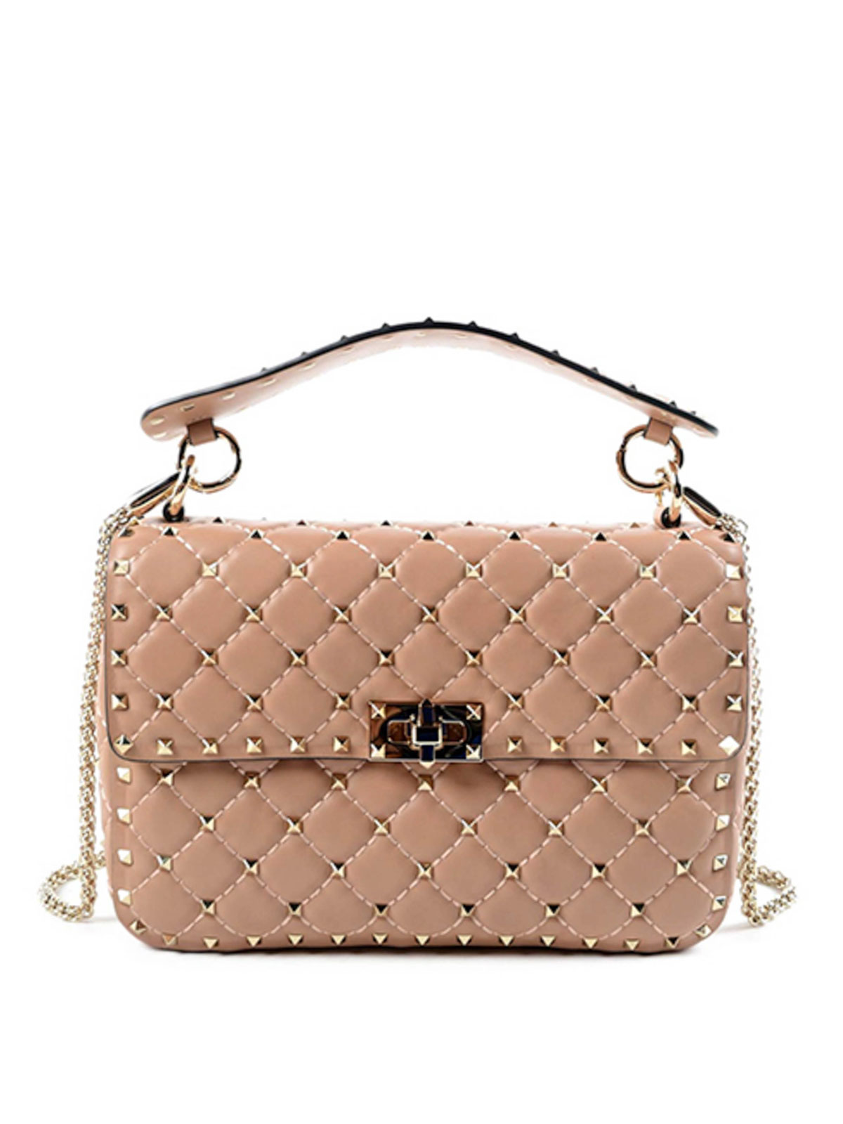 Valentino Garavani Cross Body Bags Studded Shoulder Bag