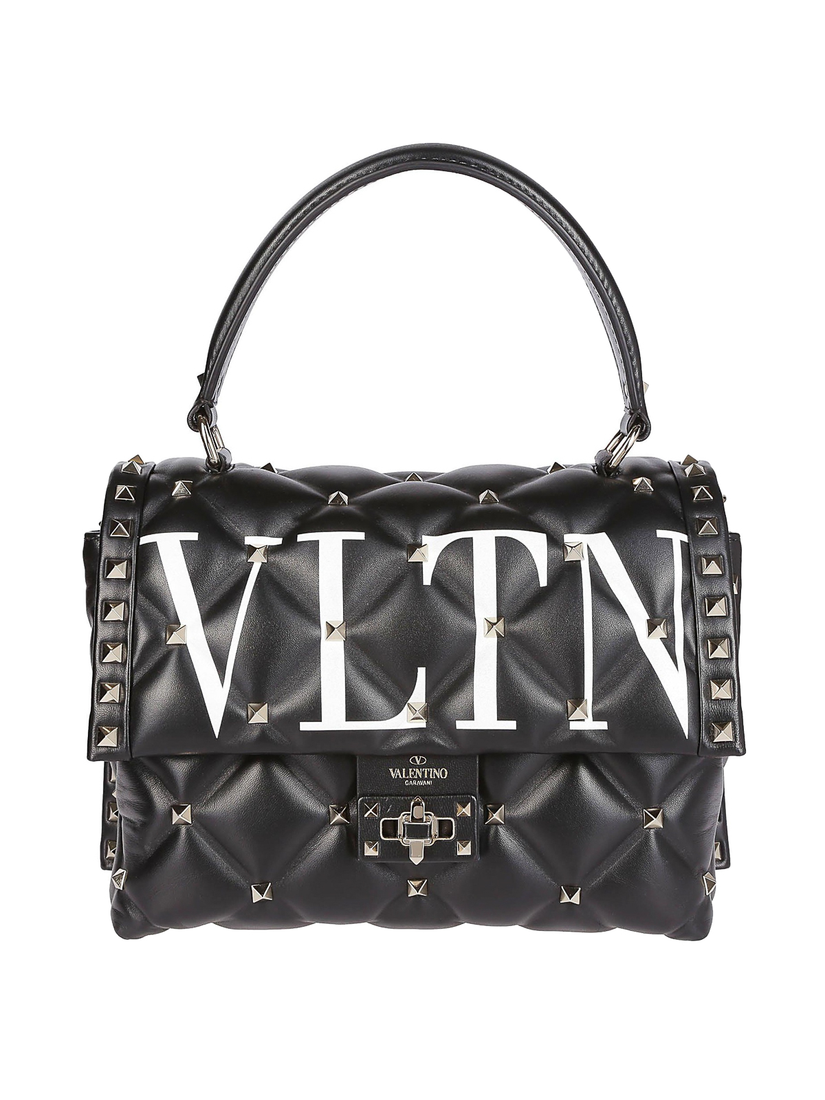 dadc0487675 VALENTINO GARAVANI: cross body bags - VLTN Candystud quilted leather small  bag