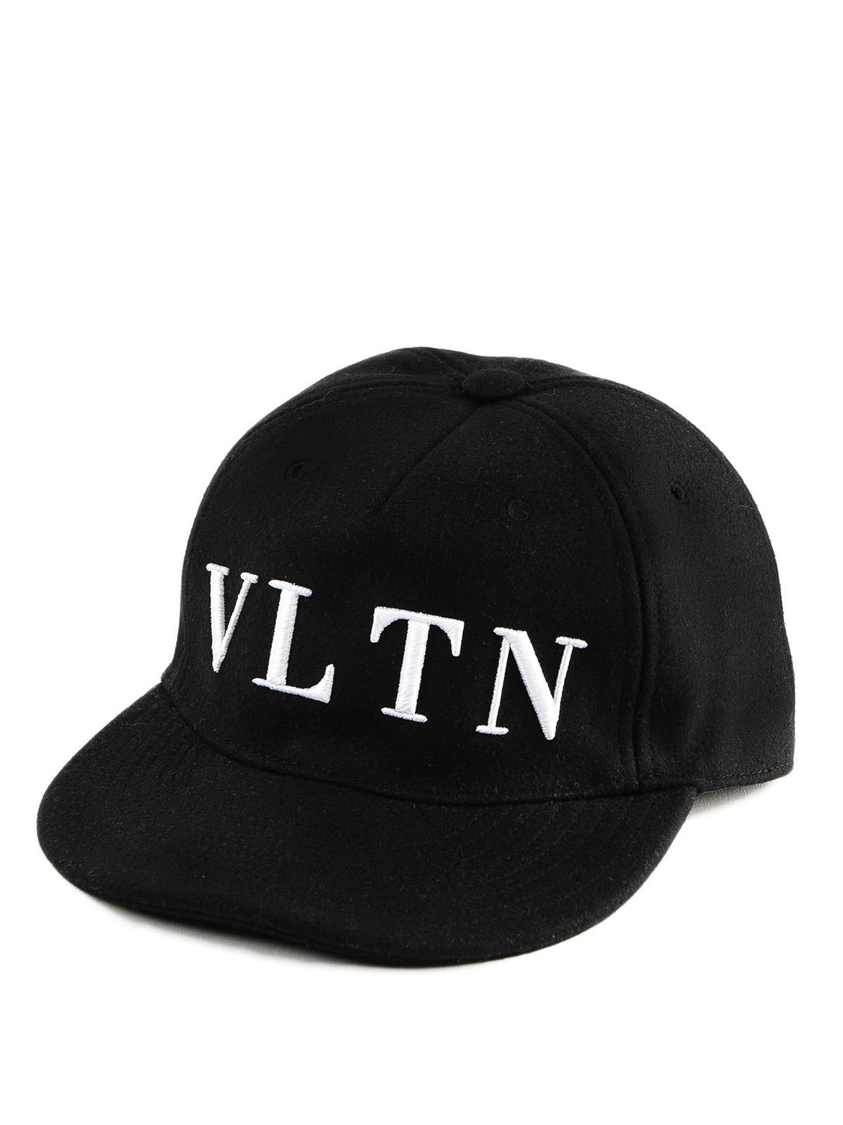 24beb4ec2af Valentino Garavani - VLTN embroidery baseball cap - hats   caps ...