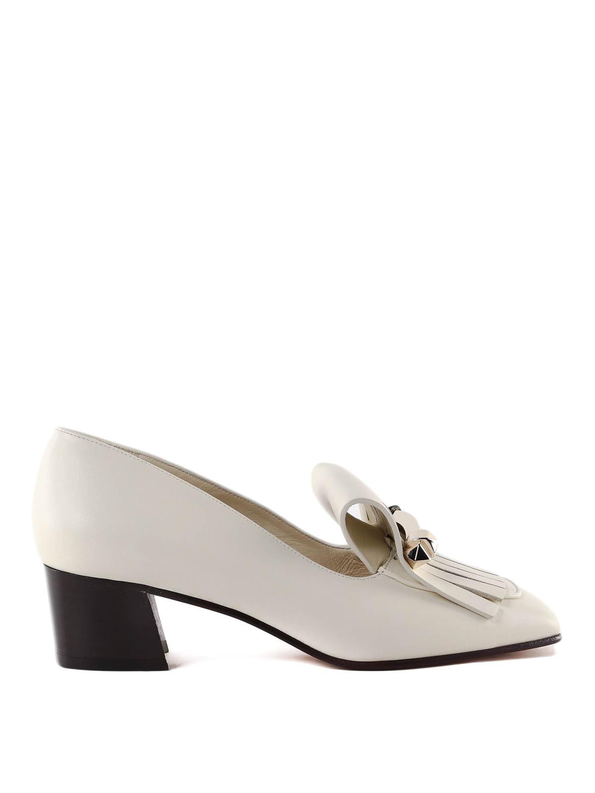 3877b1eeccf cool valentino garavani loafers slippers leather fringed loafers with valentino  slippers